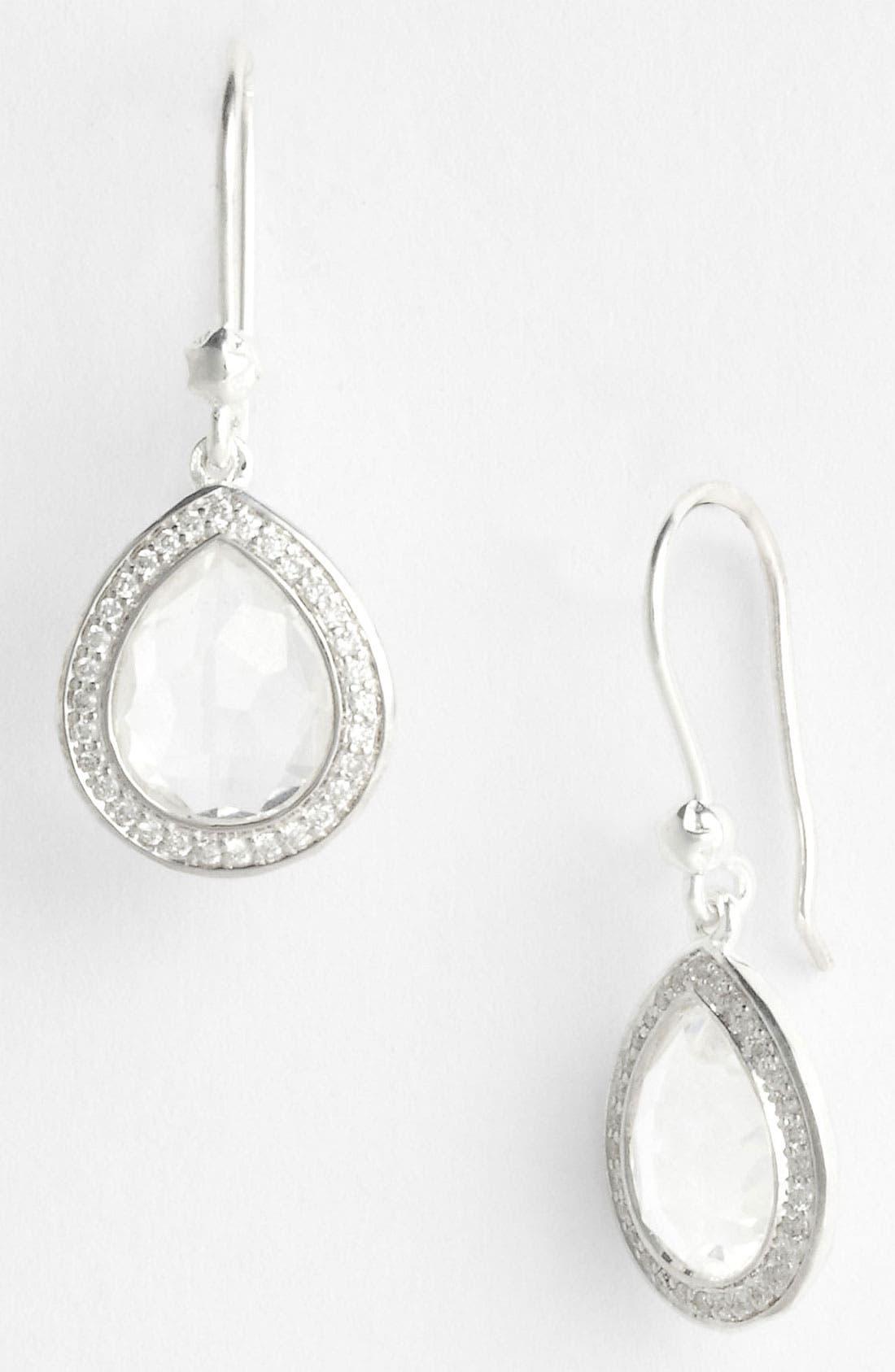 'Stella' Small Teardrop Earrings,                         Main,                         color, 040