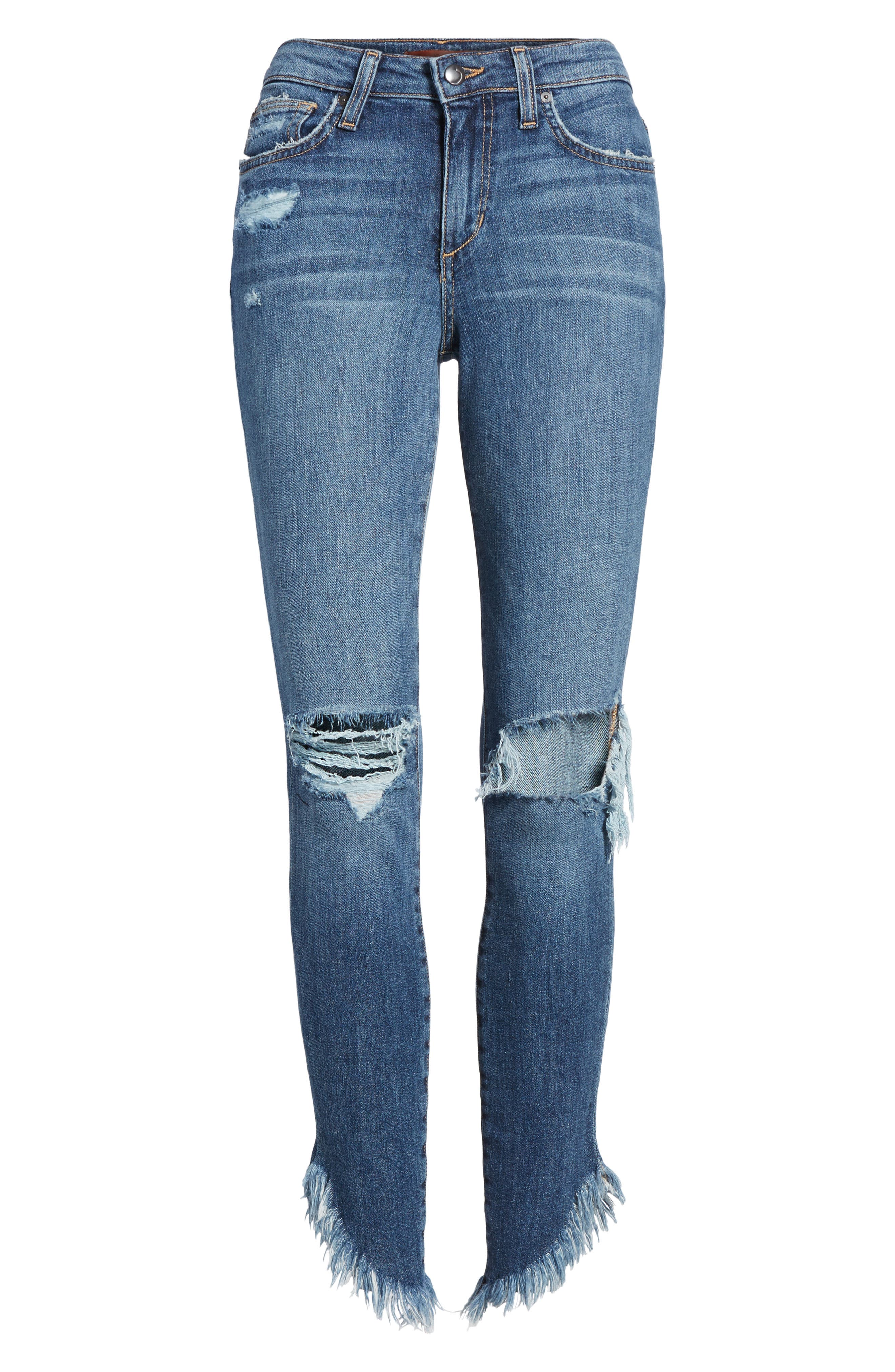 Icon Ankle Skinny Jeans,                             Alternate thumbnail 6, color,                             400