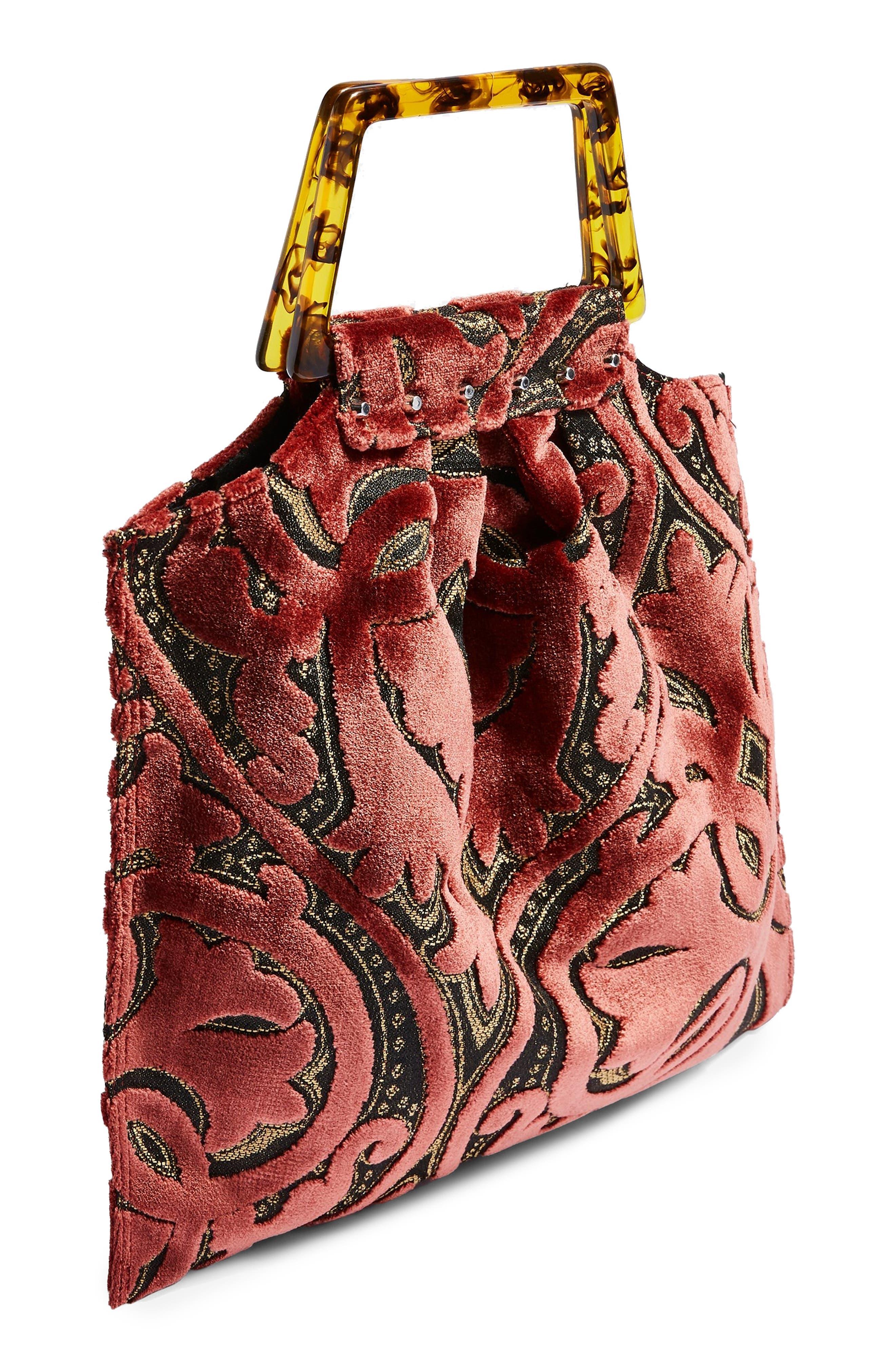 Caz Porto Tote Bag,                             Alternate thumbnail 3, color,                             650