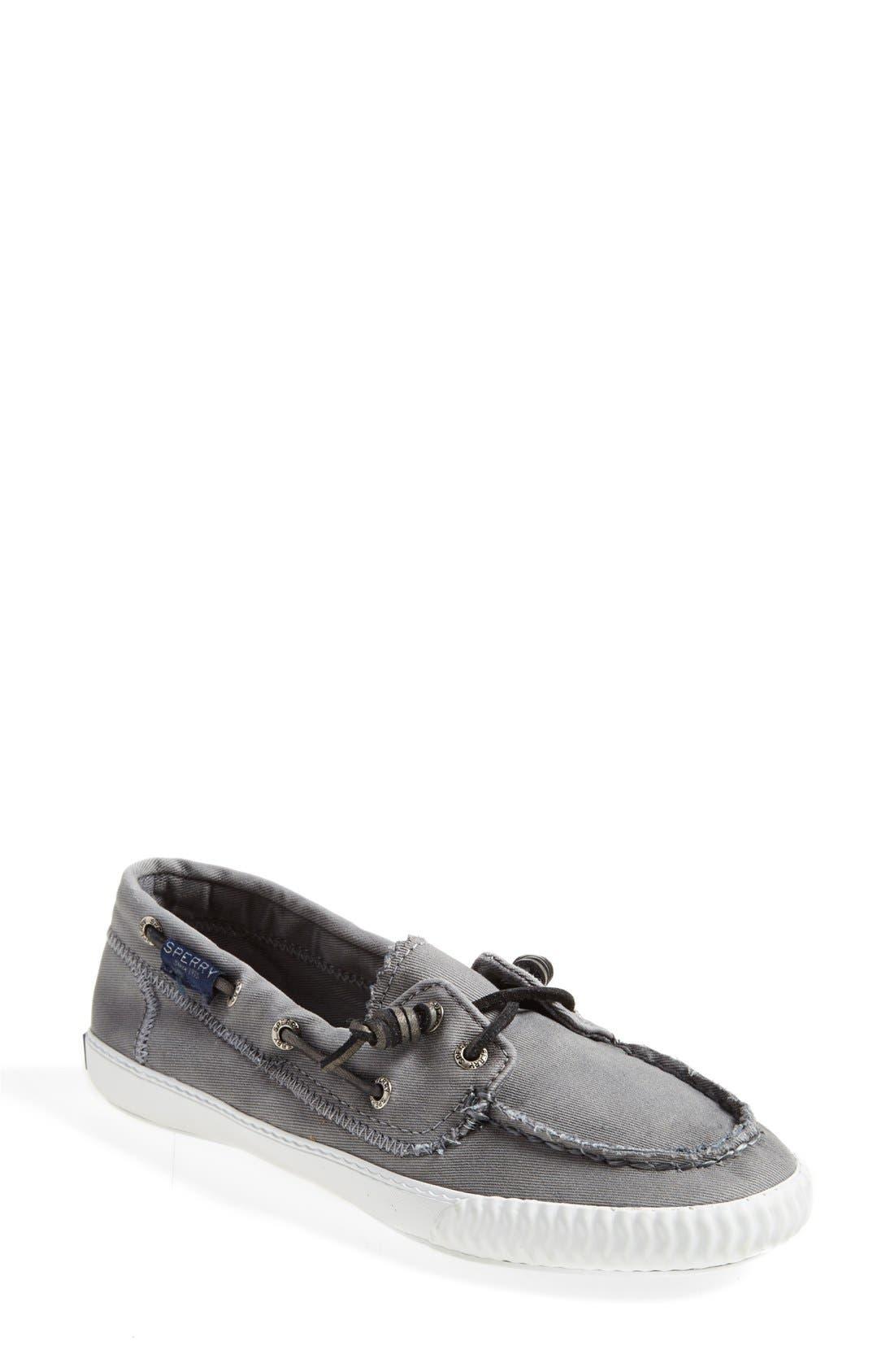 Paul Sperry 'Sayel Away' Sneaker,                             Main thumbnail 1, color,                             GREY
