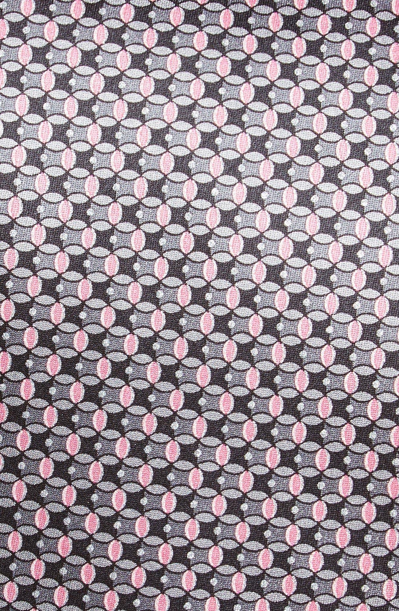 Geometric Silk Tie,                             Alternate thumbnail 2, color,