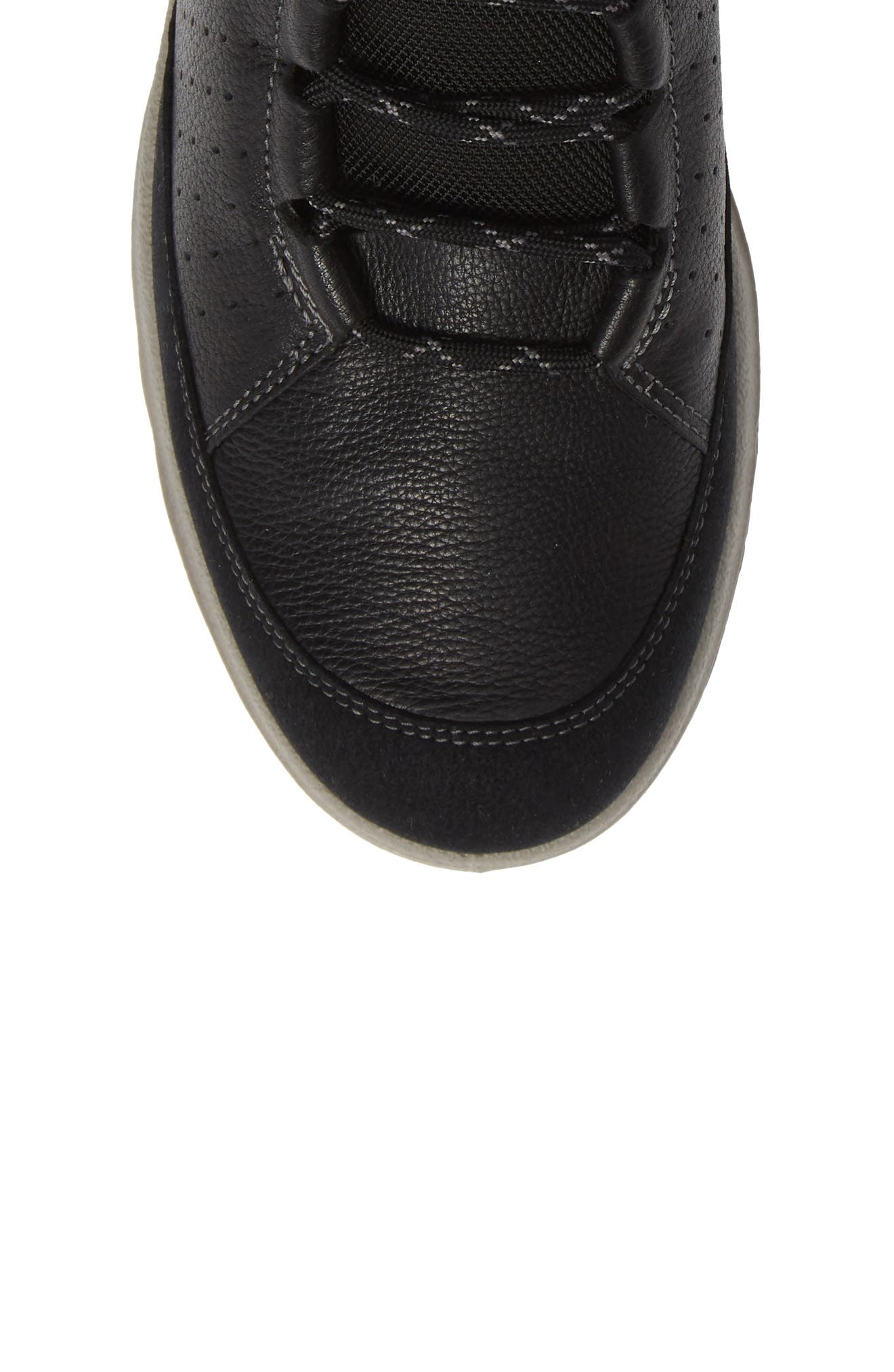 Aspina Gore-Tex<sup>®</sup> Bootie,                             Alternate thumbnail 5, color,                             BLACK LEATHER