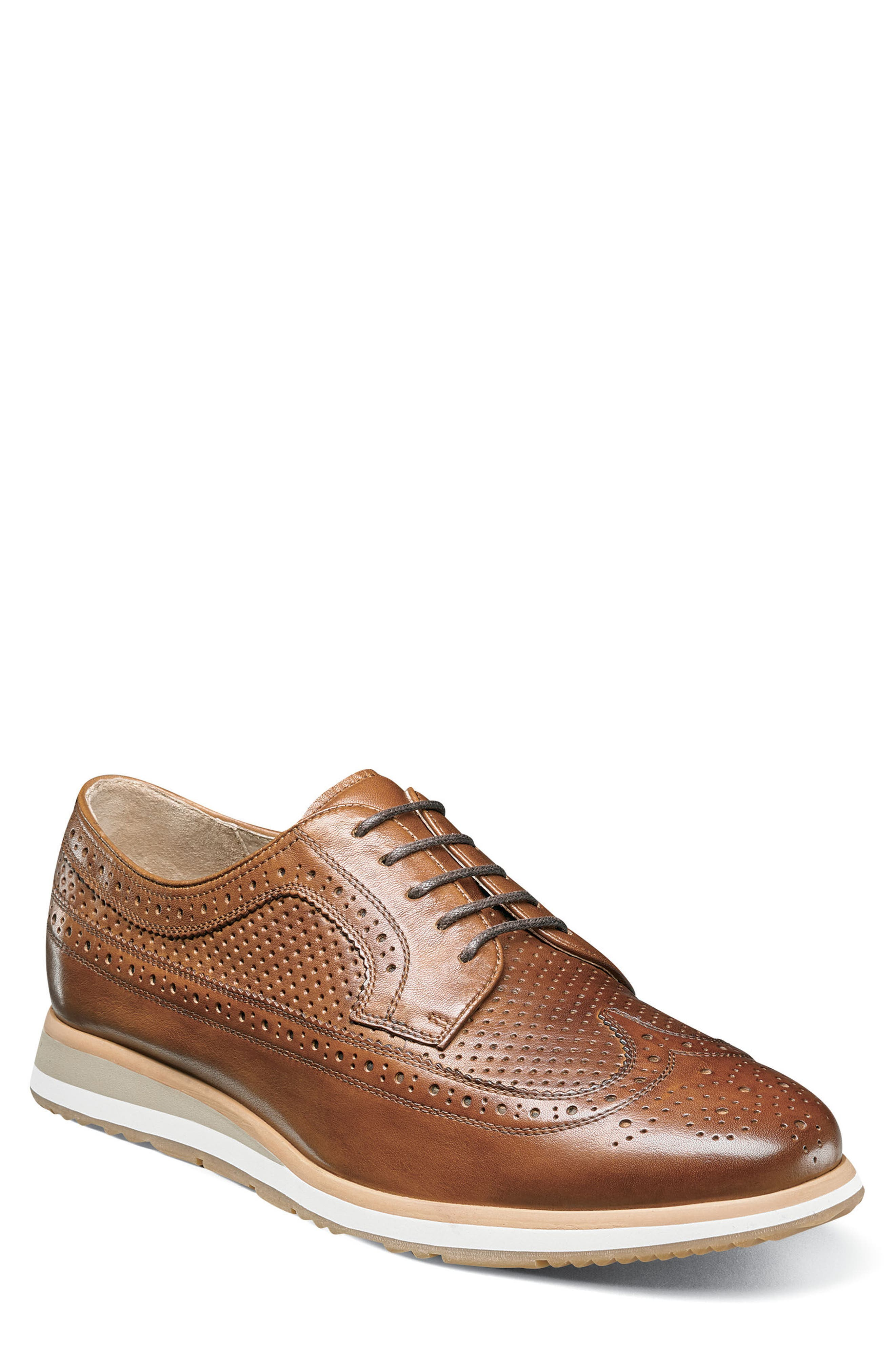 Limited Flux Perforated Wingtip Derby,                             Main thumbnail 1, color,