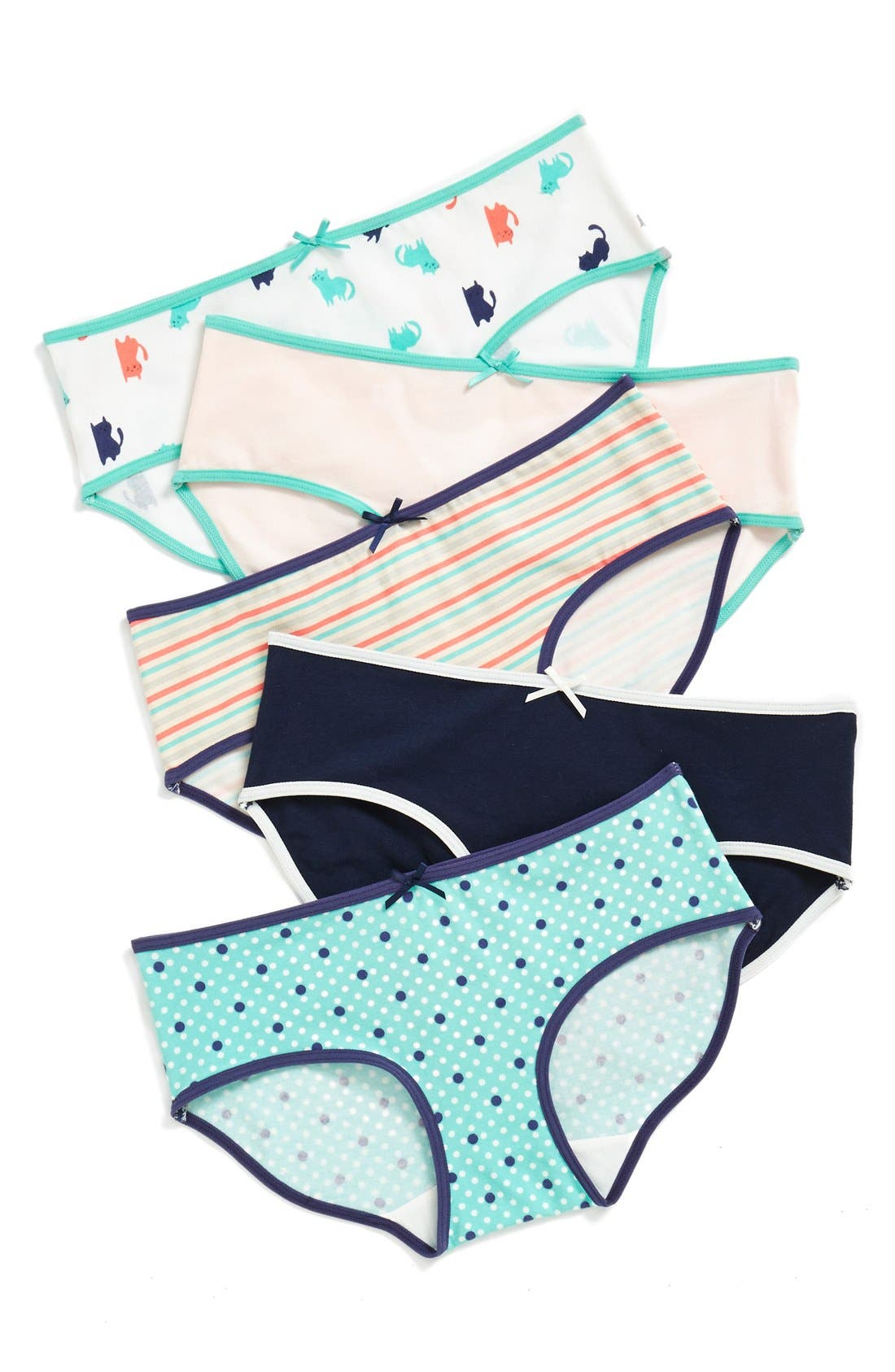 5-Pack Hipster Briefs,                             Main thumbnail 80, color,