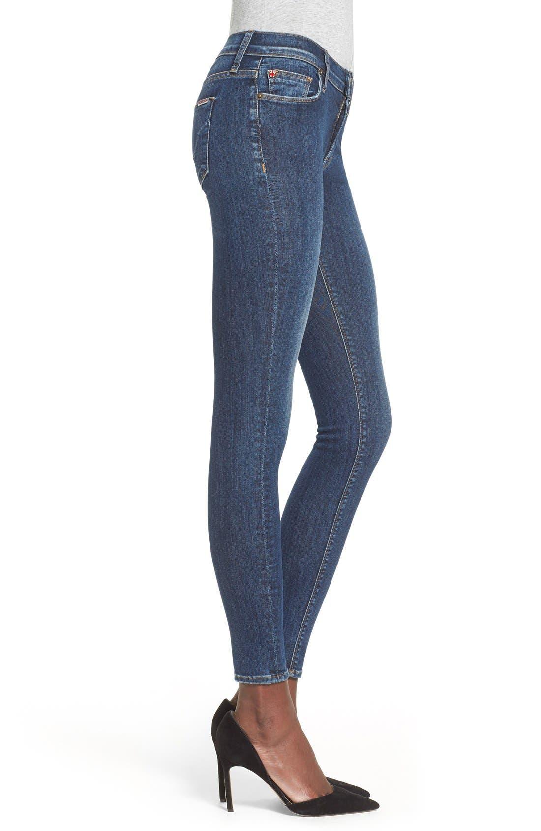 'Nico' Super Skinny Jeans,                             Alternate thumbnail 13, color,