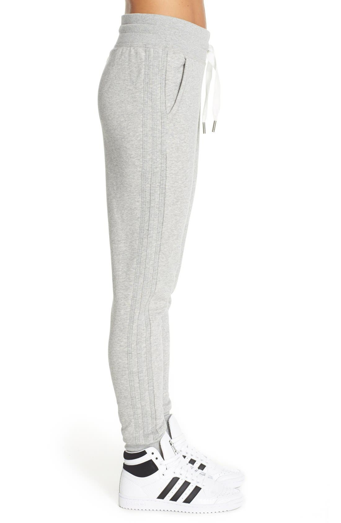 Slim Cuffed Track Pants,                             Alternate thumbnail 3, color,                             035