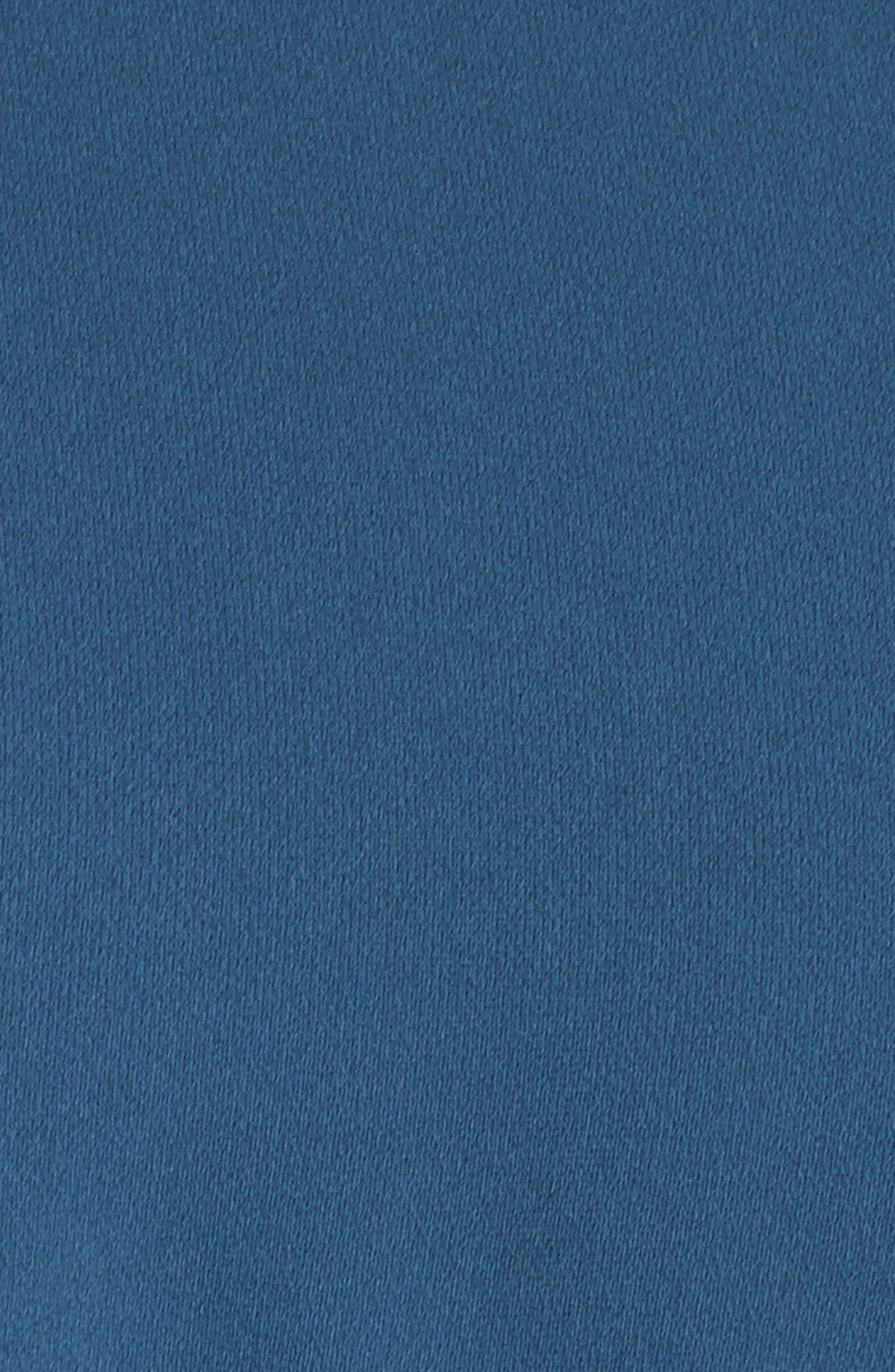 St Germain Ruffle Fit & Flare Dress,                             Alternate thumbnail 10, color,