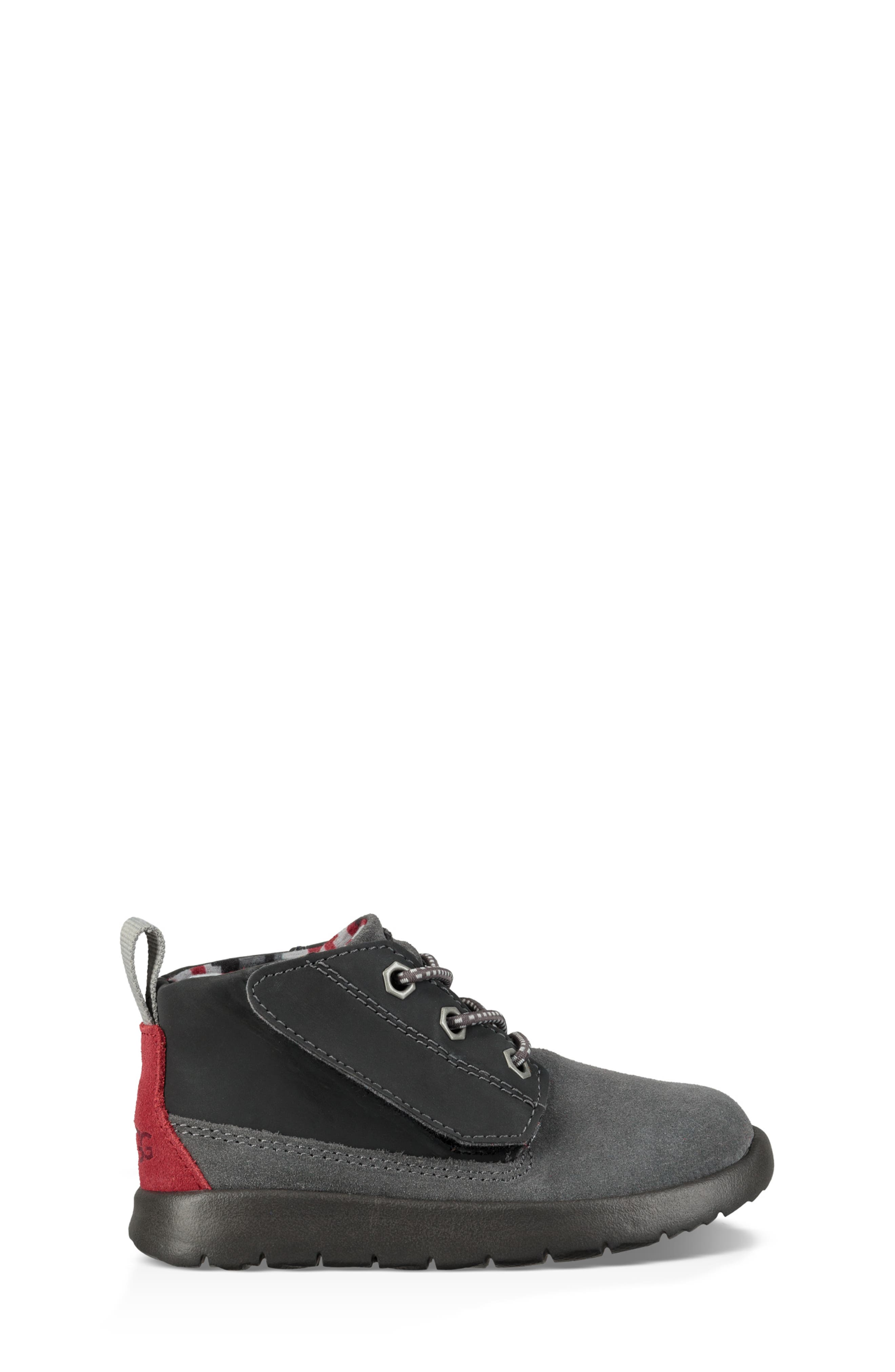 Canoe Chukka Sneaker,                             Alternate thumbnail 3, color,                             GREY / BLACK