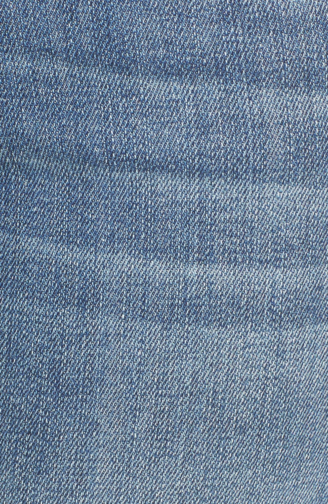 Taylor Ripped Boyfriend Jeans,                             Alternate thumbnail 5, color,                             400