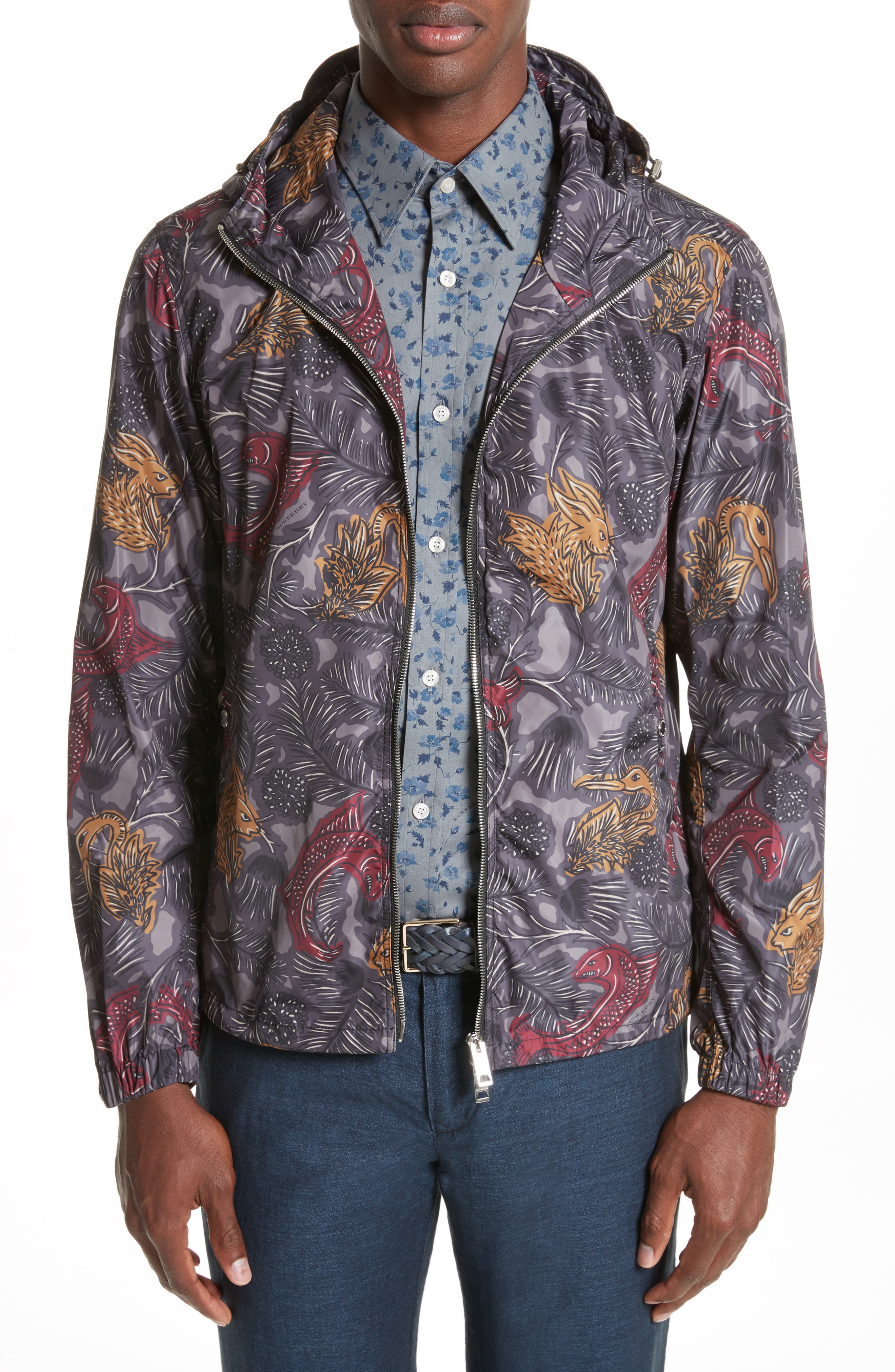 Harland Classic Fit Hooded Jacket,                         Main,                         color, 413