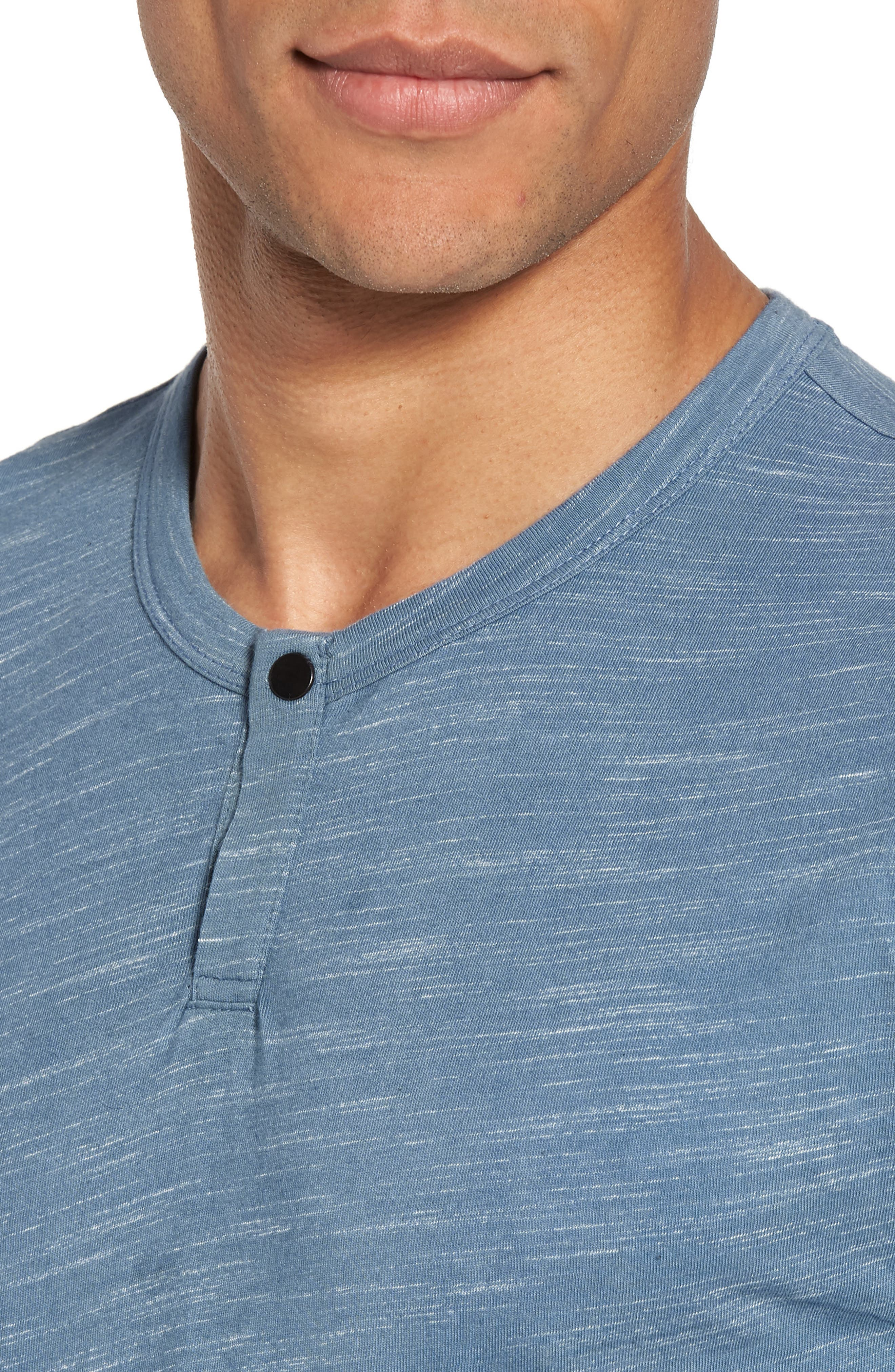 Space Dyed One-Button Henley T-Shirt,                             Alternate thumbnail 20, color,