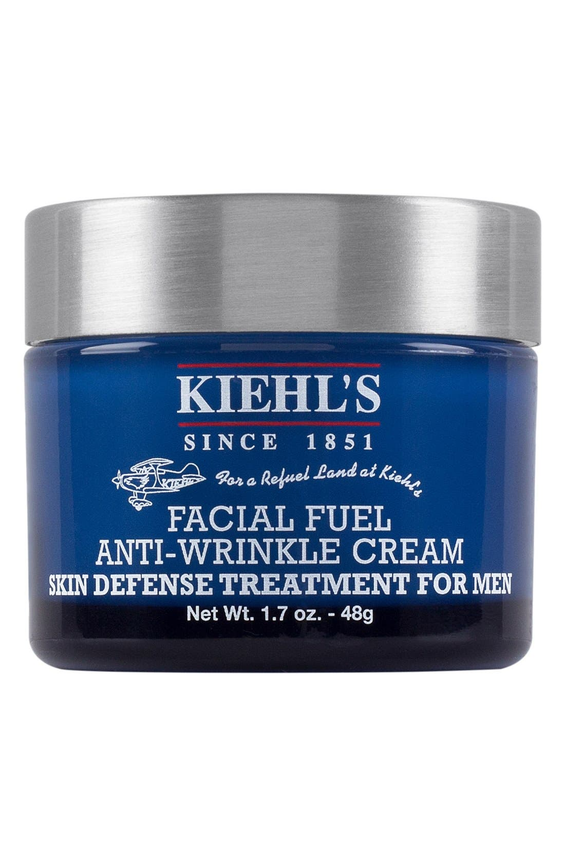 'Facial Fuel' Anti-Wrinkle Cream for Men, Main, color, 000