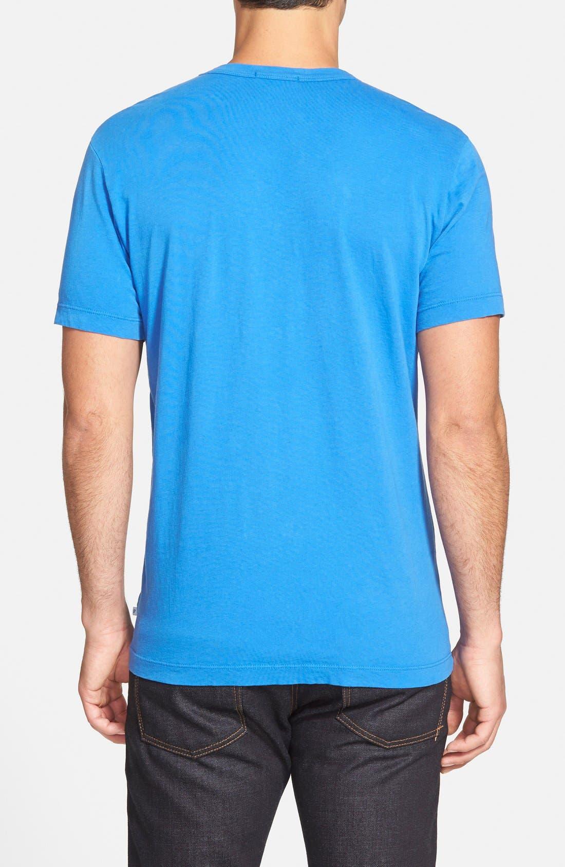 Crewneck Jersey T-Shirt,                             Alternate thumbnail 186, color,