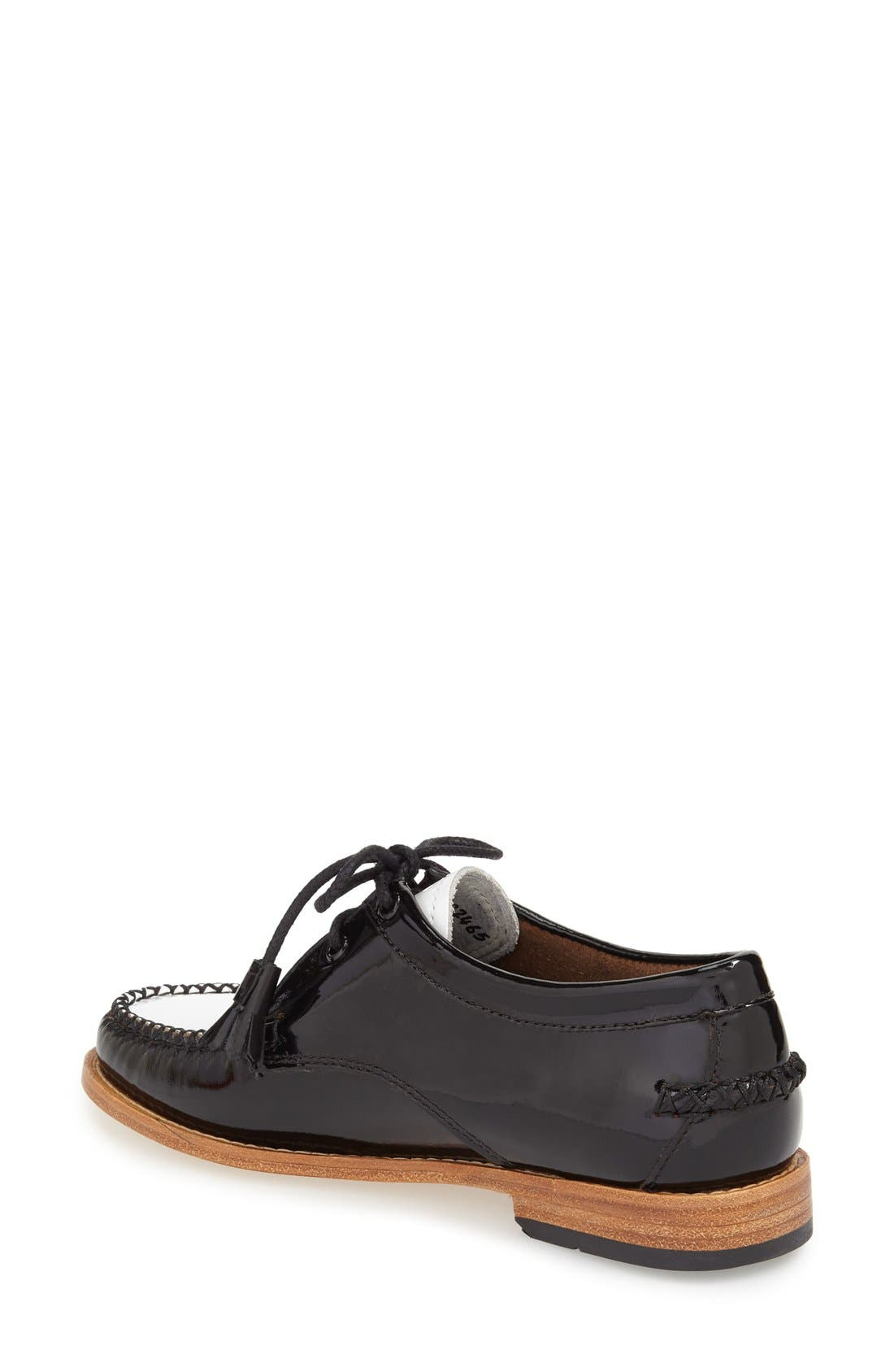 'Winnie' Leather Oxford,                             Alternate thumbnail 37, color,