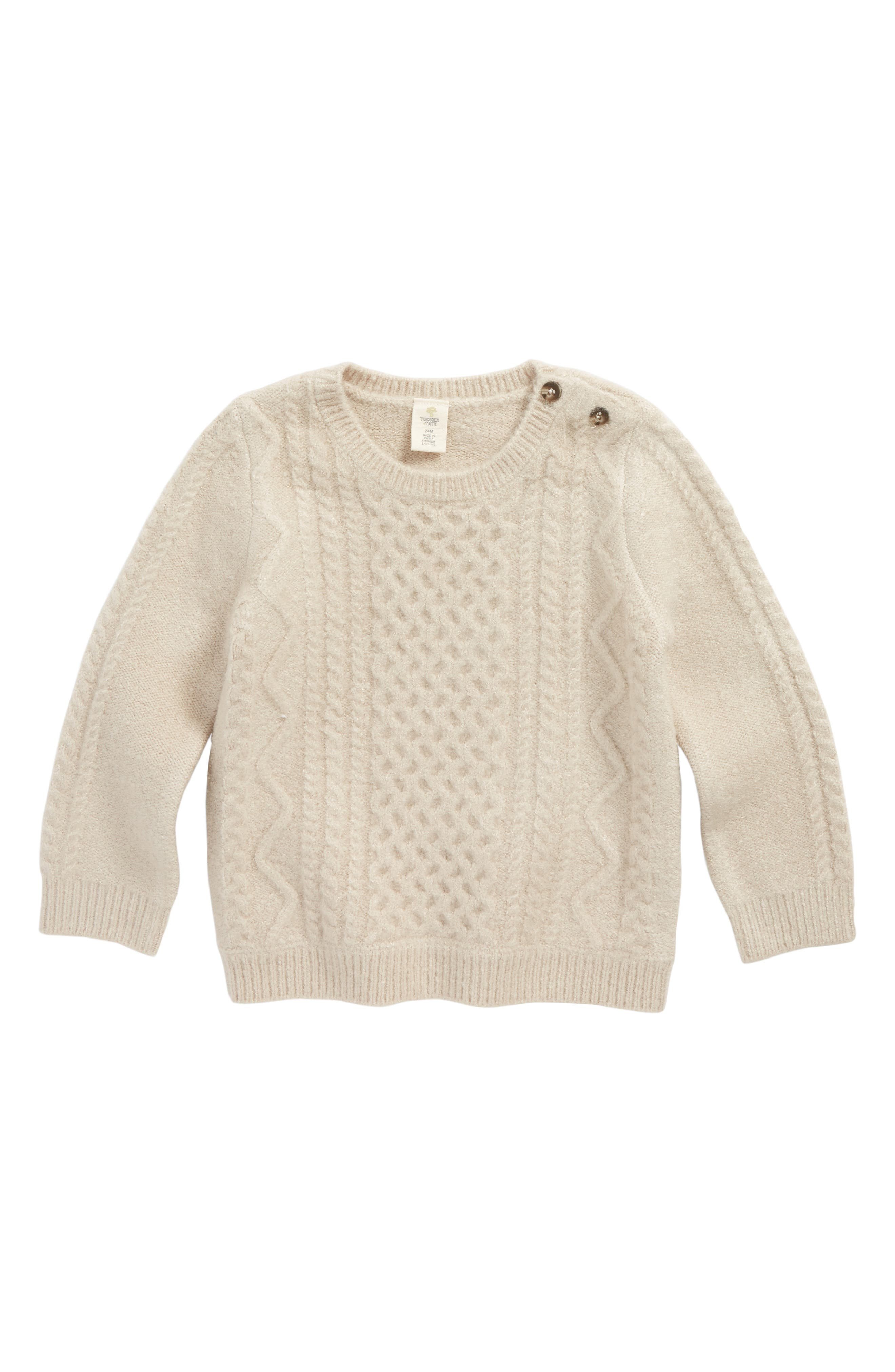 TUCKER + TATE Cable Sweater, Main, color, 900