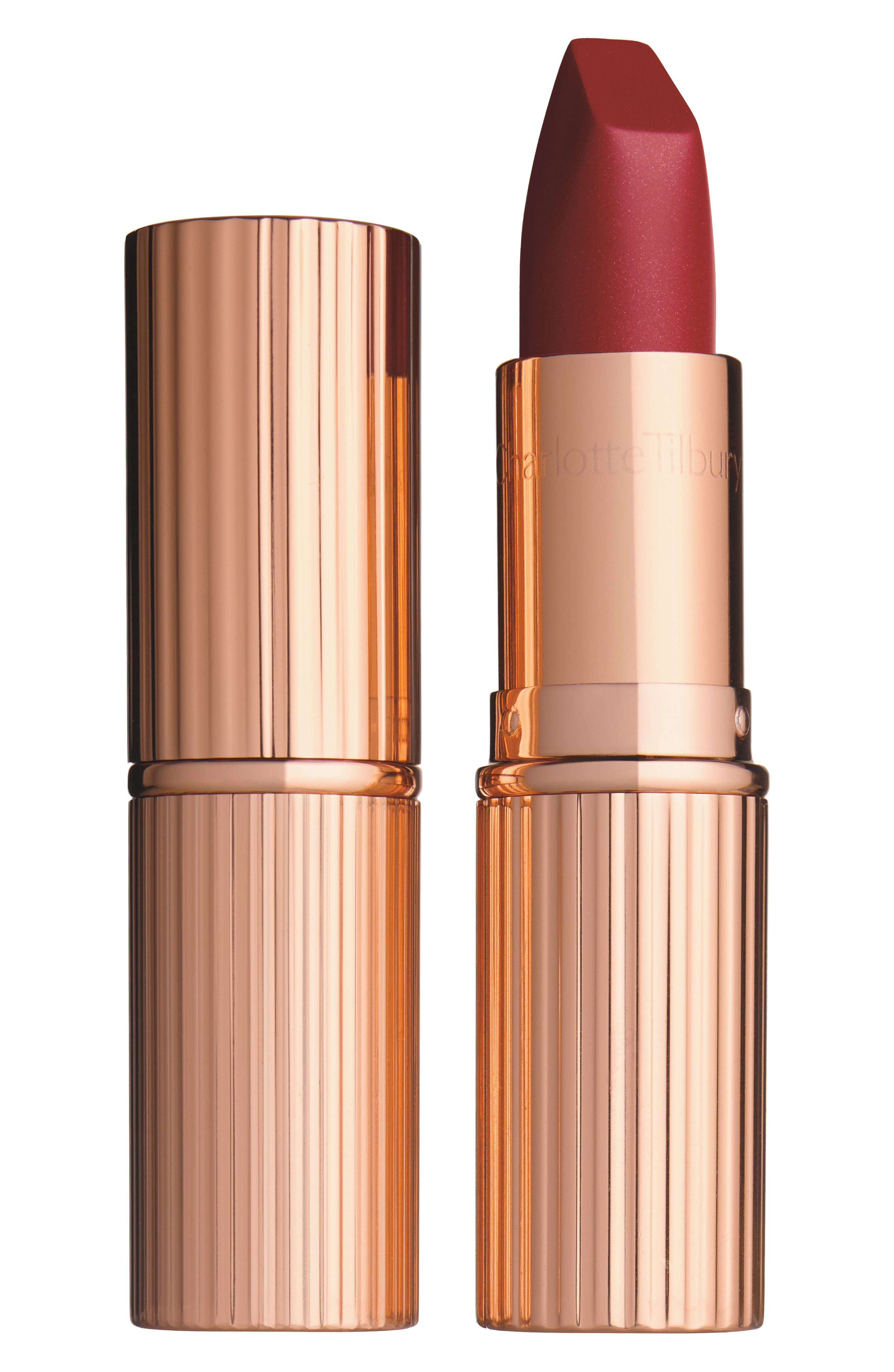 Matte Revolution Lipstick,                             Alternate thumbnail 7, color,                             BIRKIN BROWN