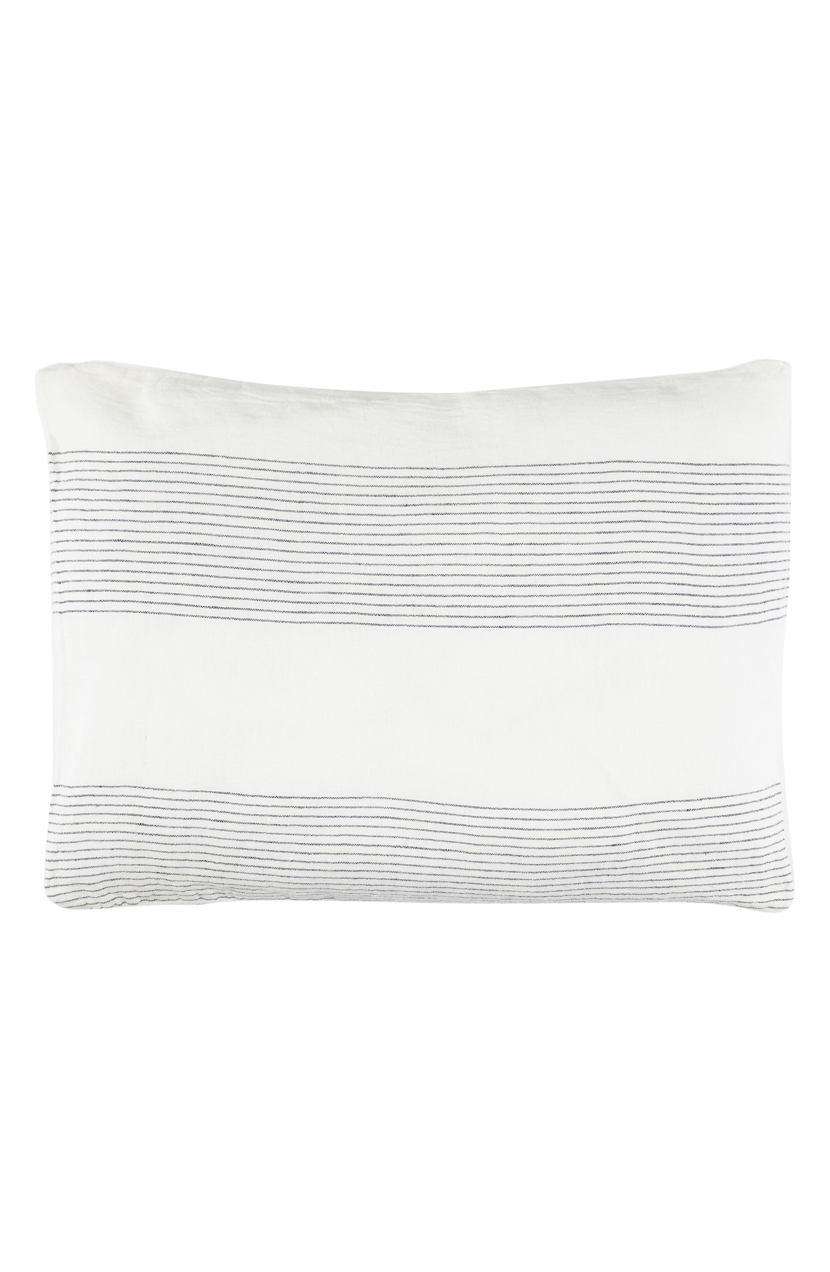 Amagansett Linen Accent Pillow,                             Main thumbnail 1, color,                             100