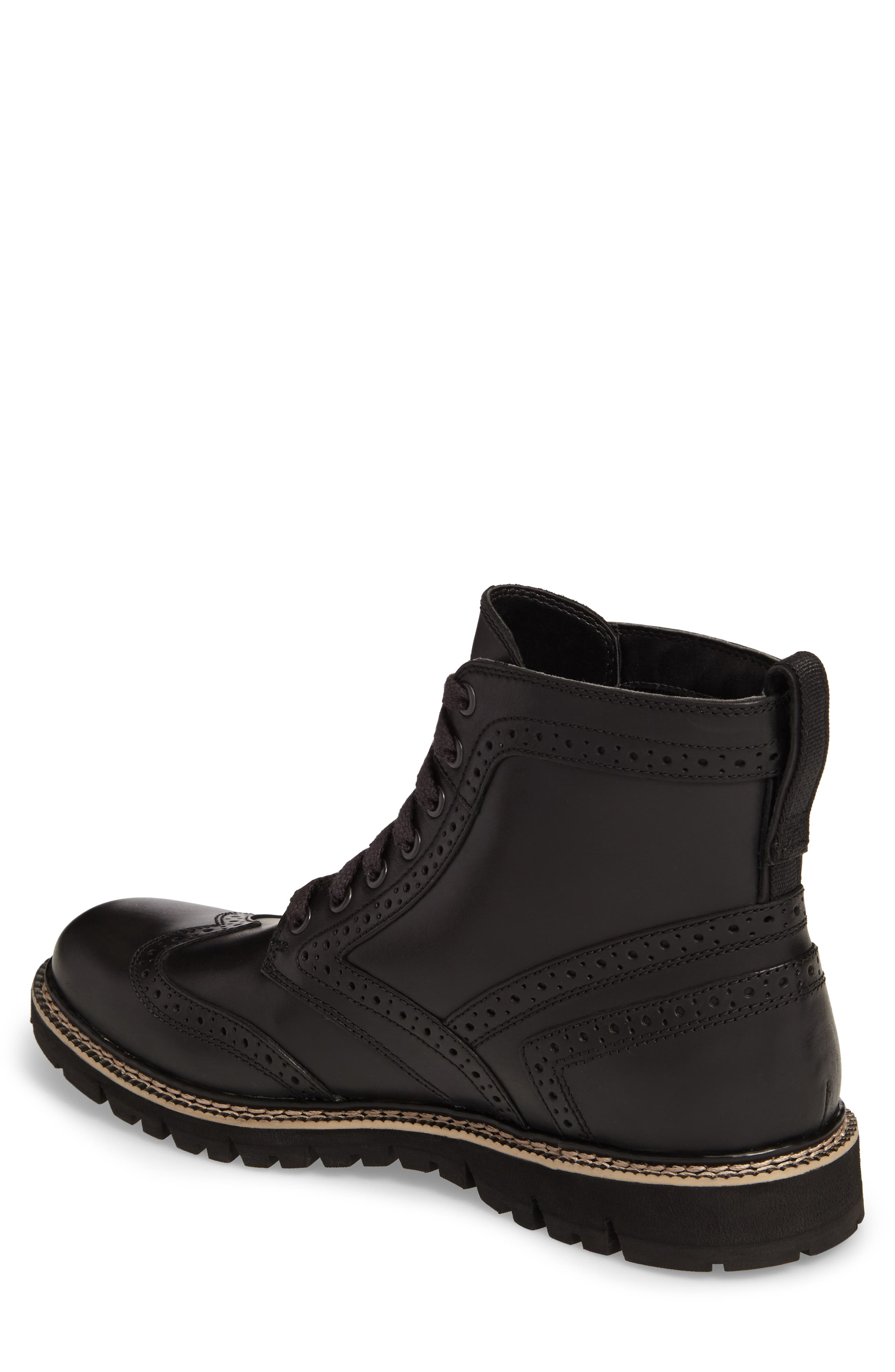 Britton Hill Wingtip Boot,                             Alternate thumbnail 3, color,