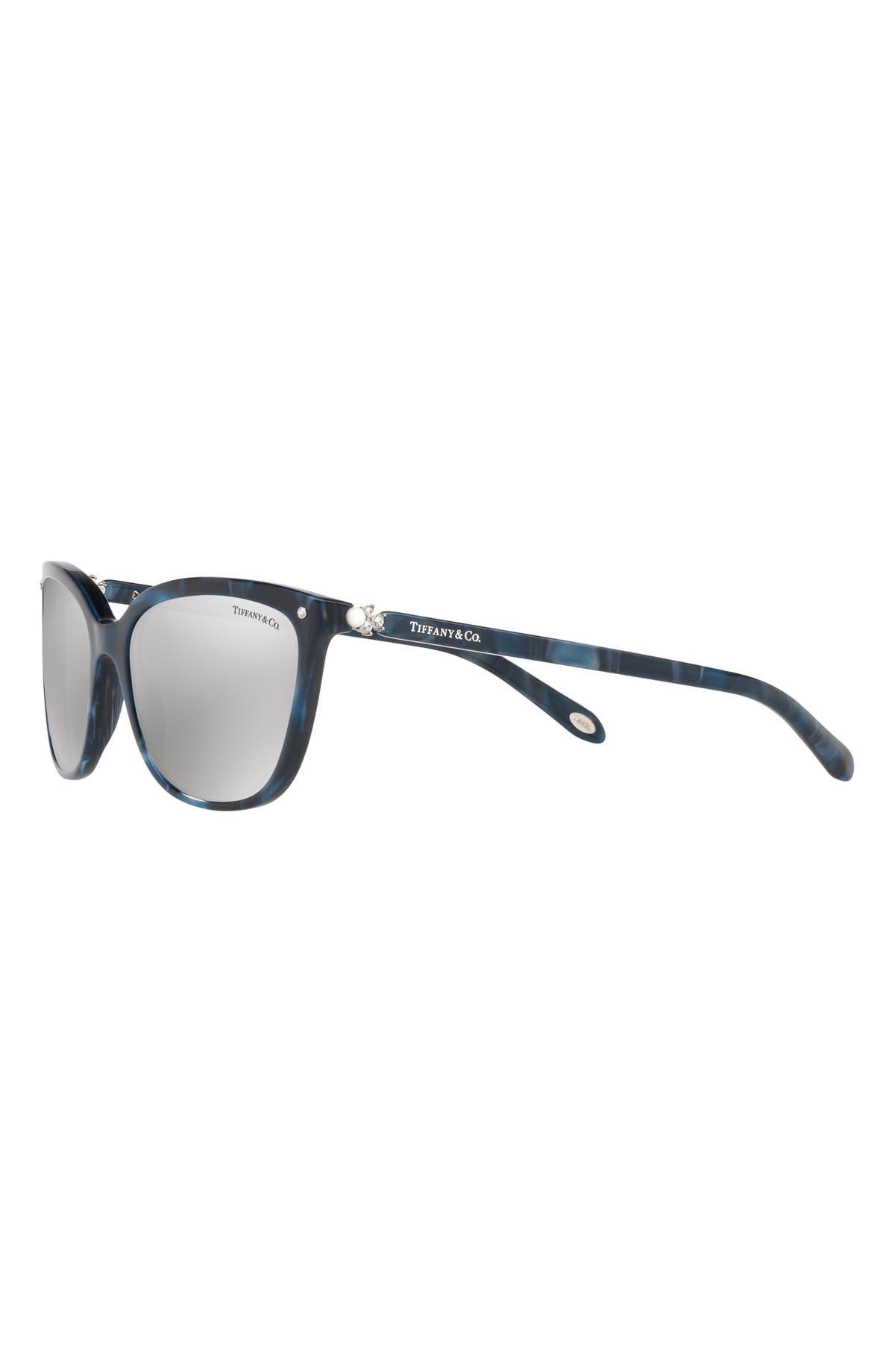09b1291d39 Tiffany   Co. 55mm Mirrored Square Sunglasses