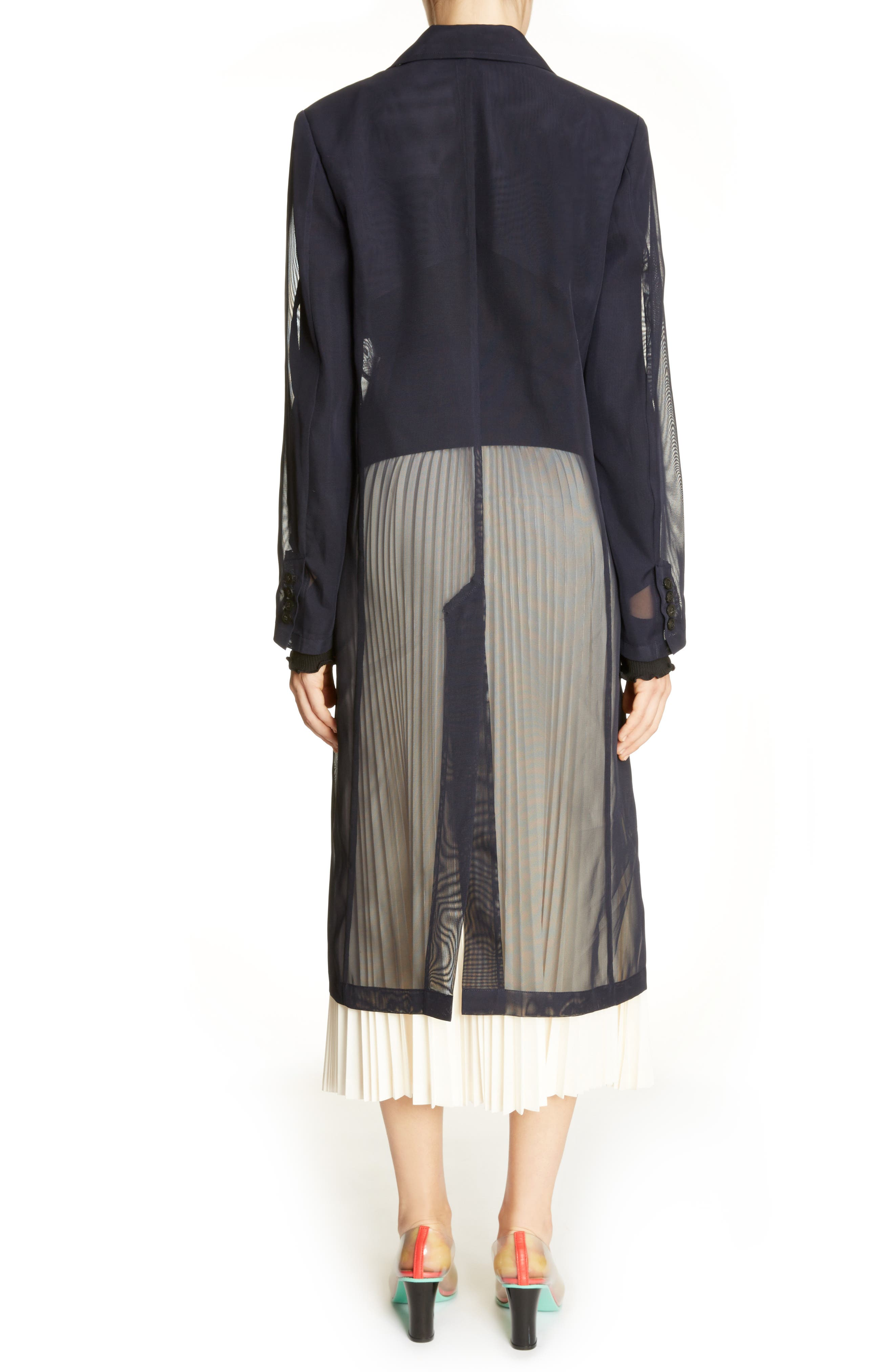 Transparent Trench Coat,                         Main,                         color,