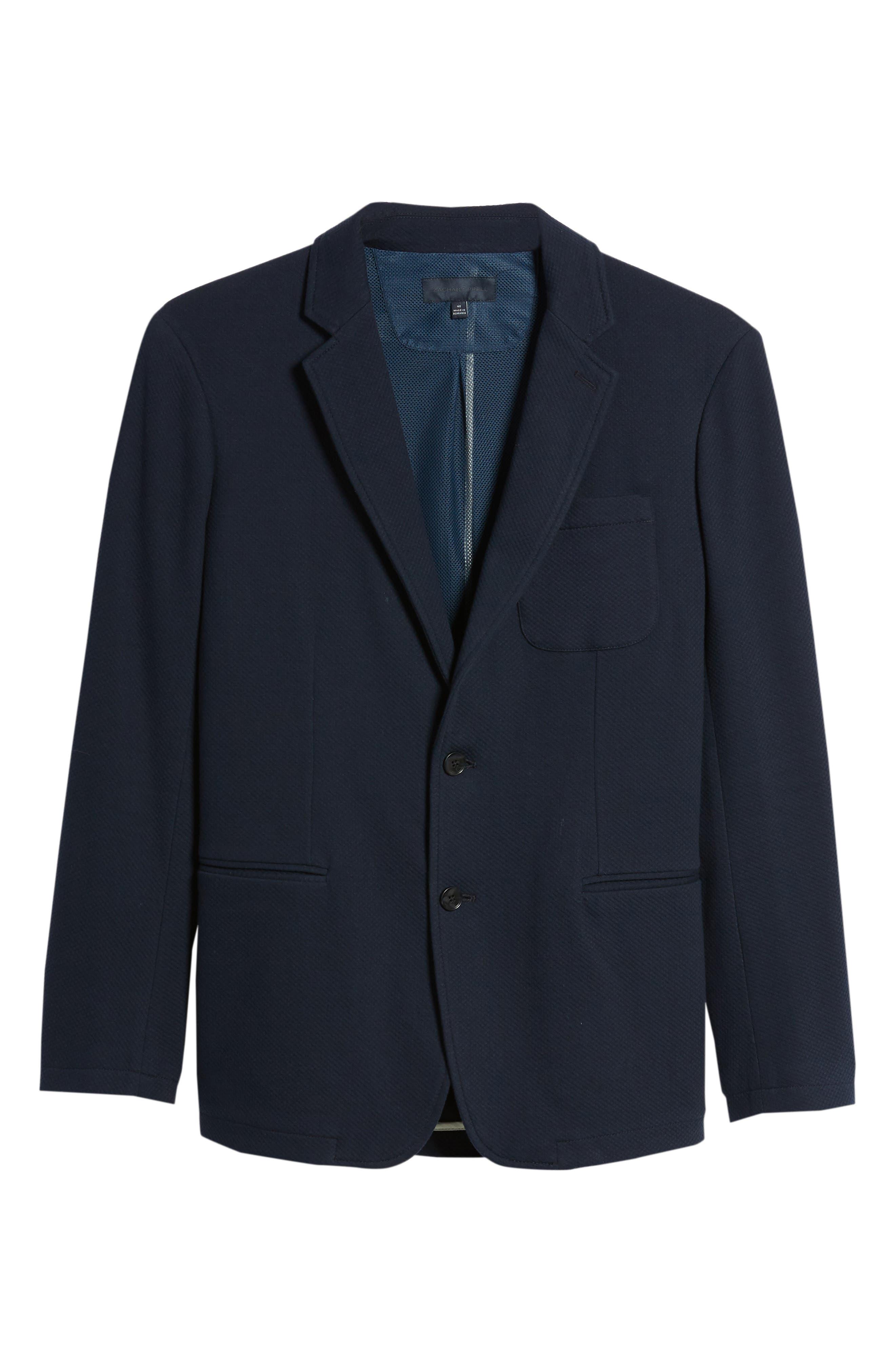 Baylor Regular Fit Knit Sport Coat,                             Alternate thumbnail 5, color,                             410