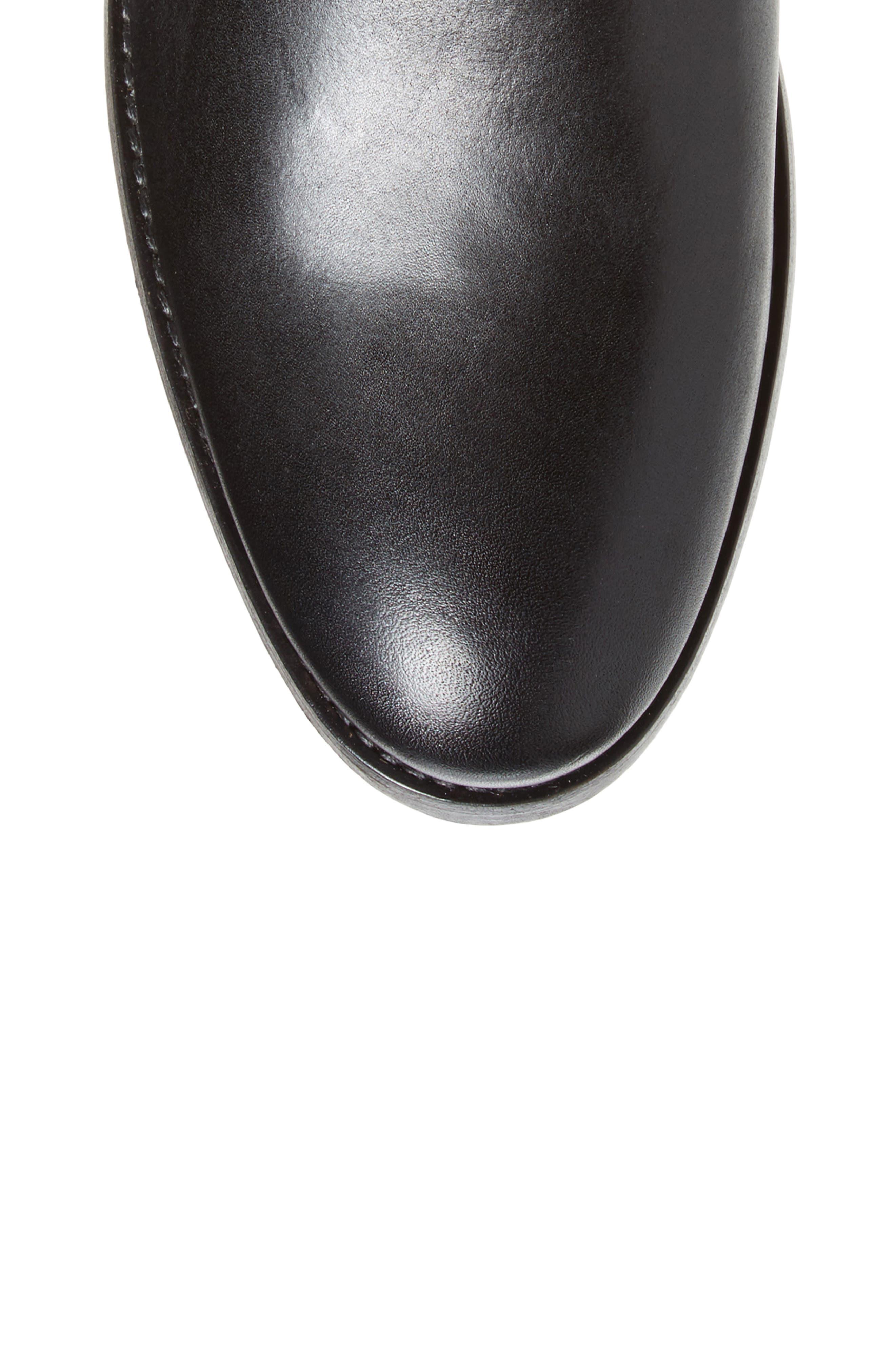 Melissa Stud Knee High Boot,                             Alternate thumbnail 5, color,                             015