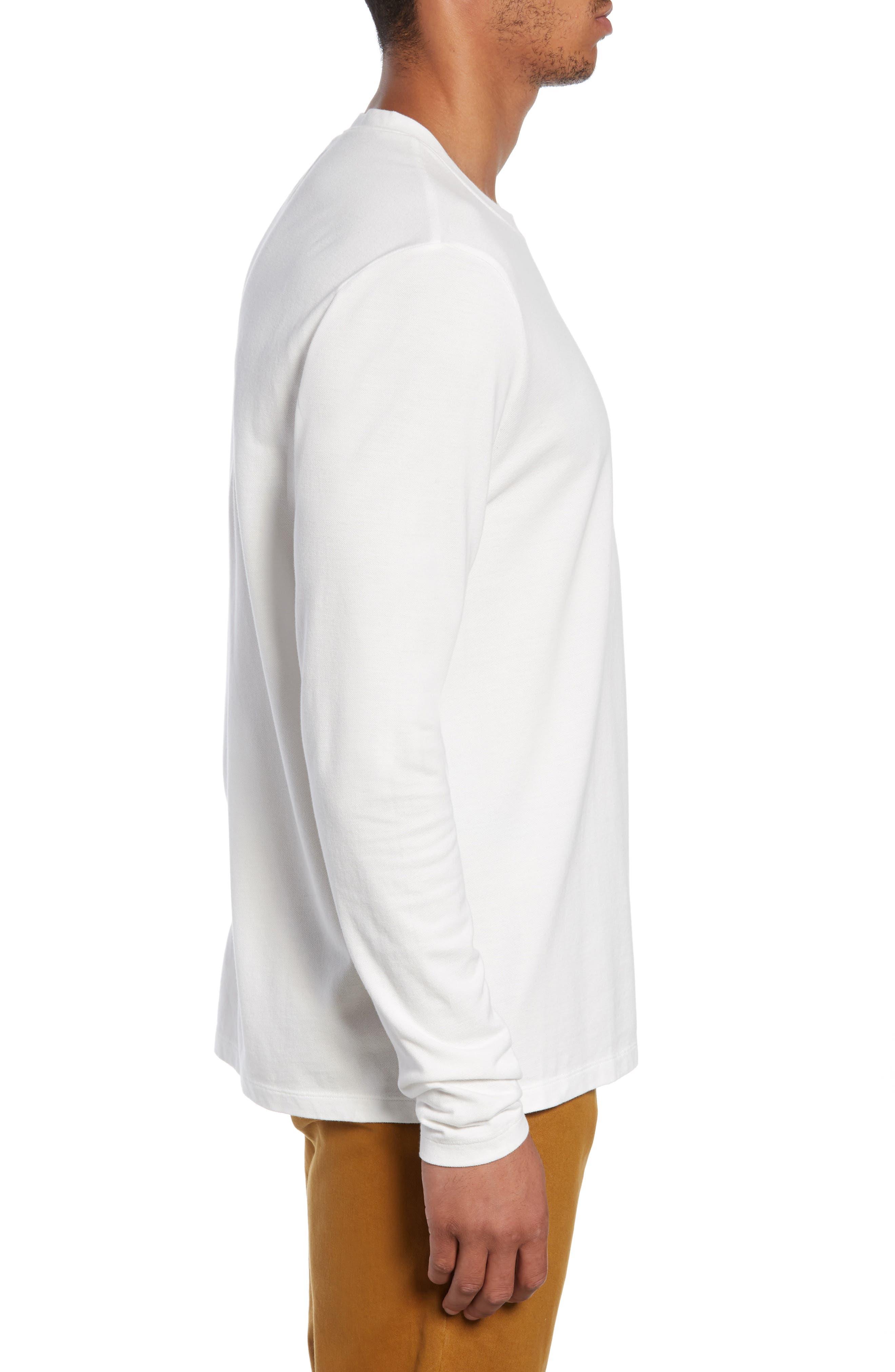 Piqua Pocket T-Shirt,                             Alternate thumbnail 3, color,                             WHITE