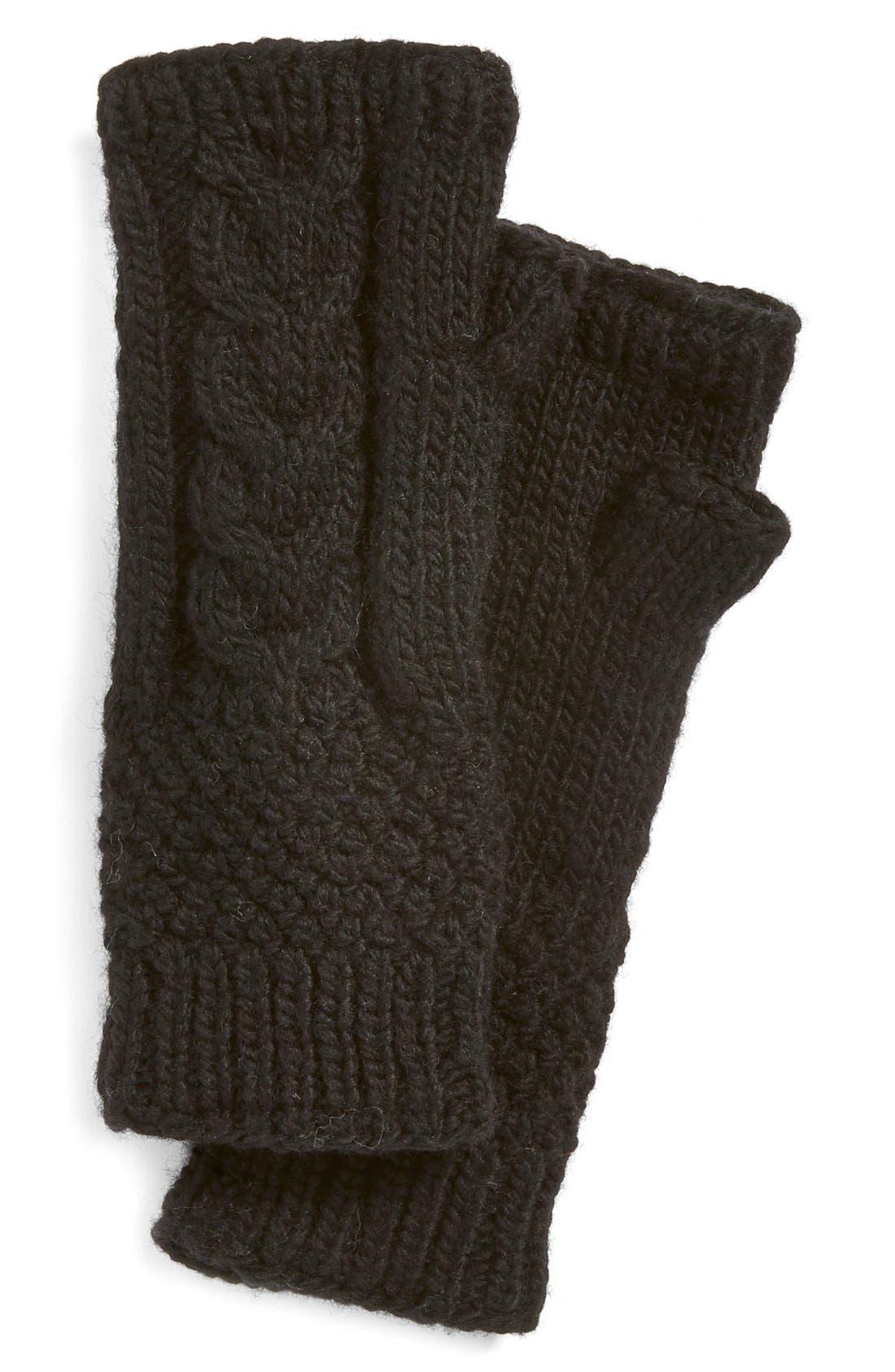NirvannaDesigns Cable Knit Hand Warmers,                             Main thumbnail 3, color,