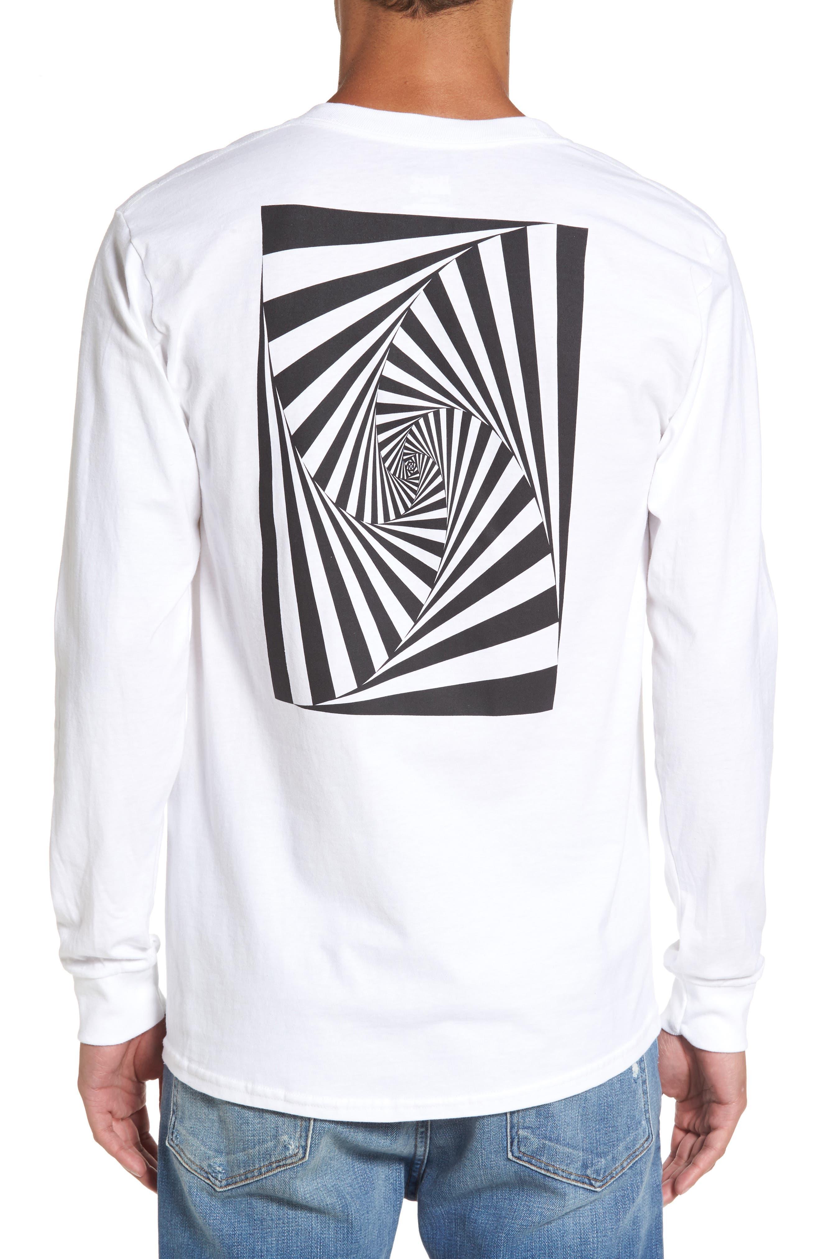 Vision Street Wear Long Sleeve T-Shirt,                             Alternate thumbnail 3, color,                             100