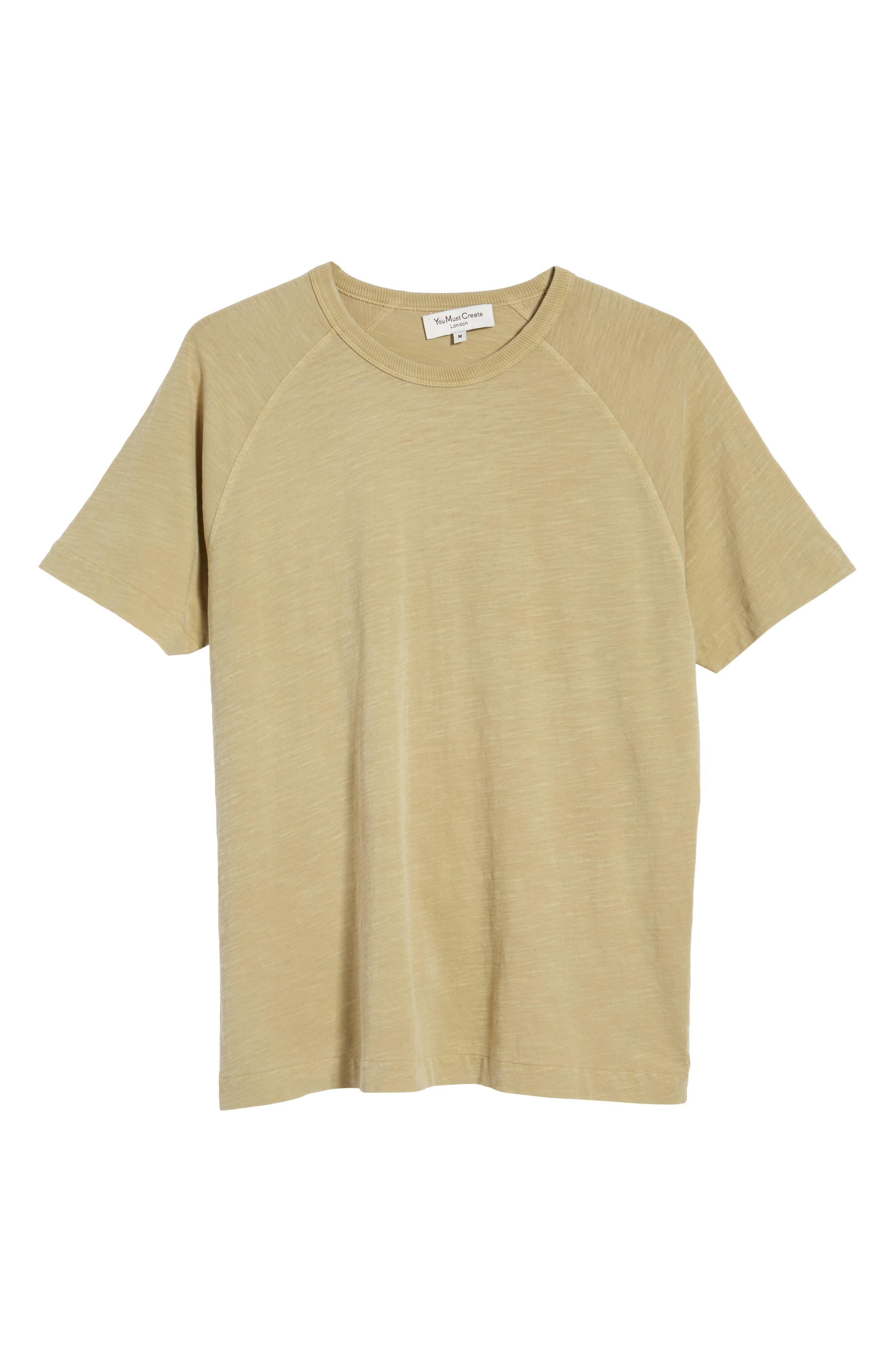 YMC,                             Television Raglan T-Shirt,                             Alternate thumbnail 6, color,                             250