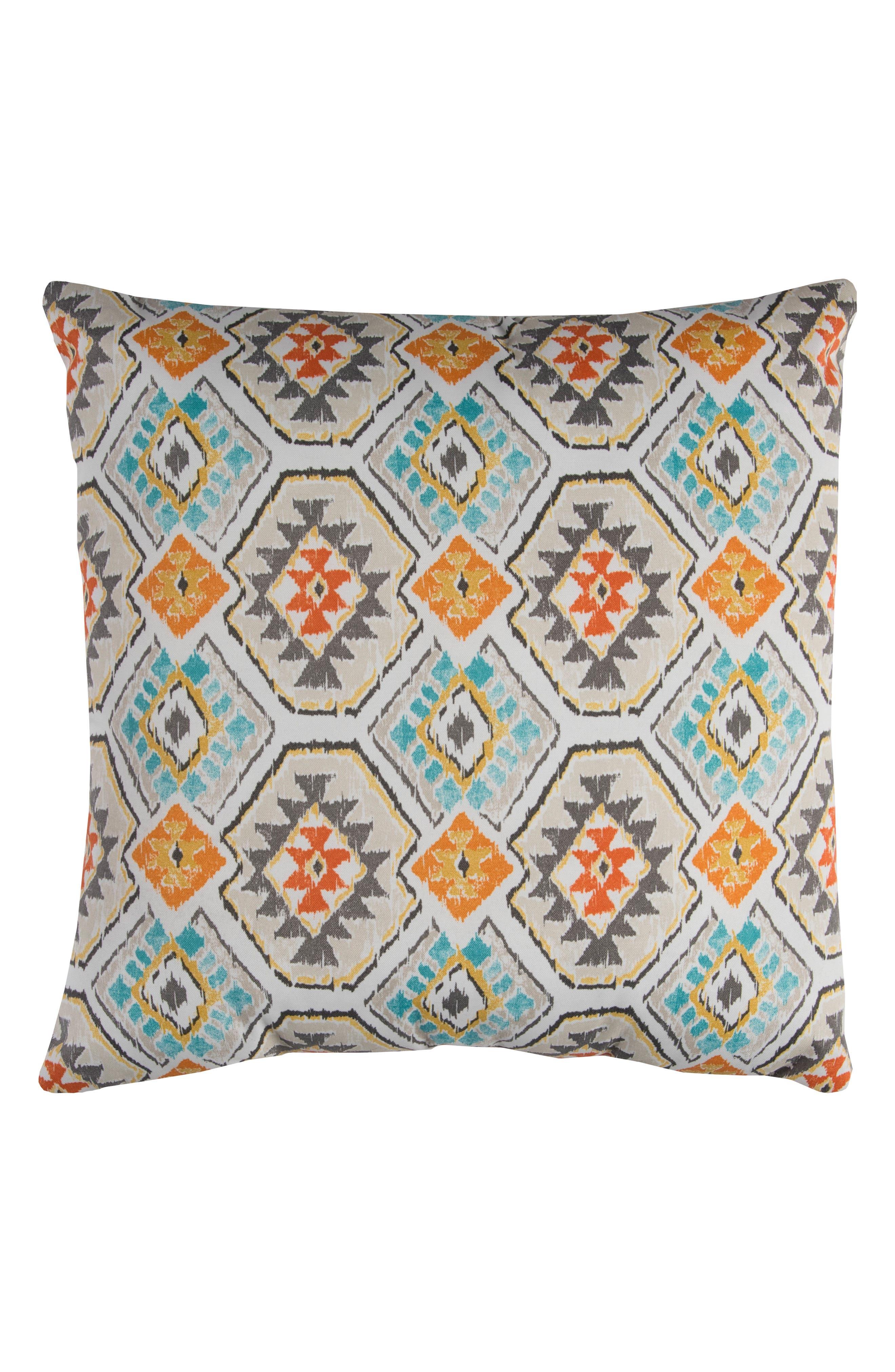 Chevron Outdoor Pillow,                             Main thumbnail 3, color,