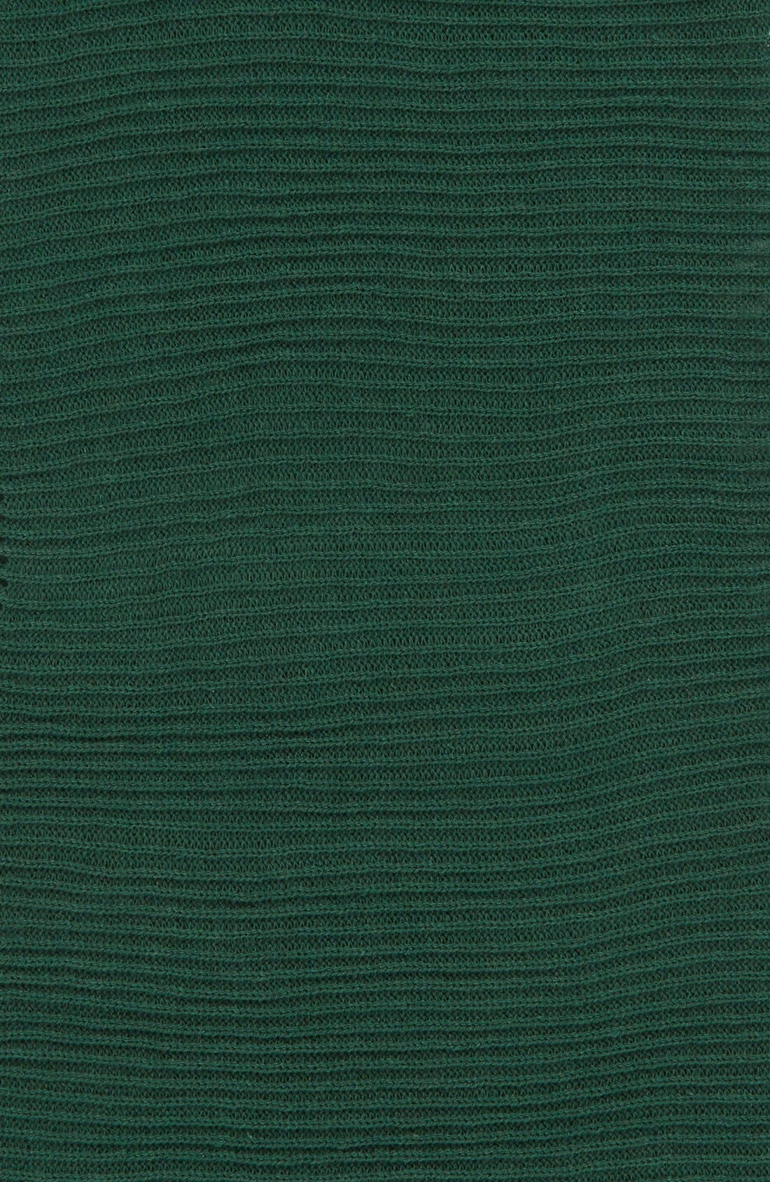Rib Knit Fringe Infinity Scarf,                             Alternate thumbnail 10, color,