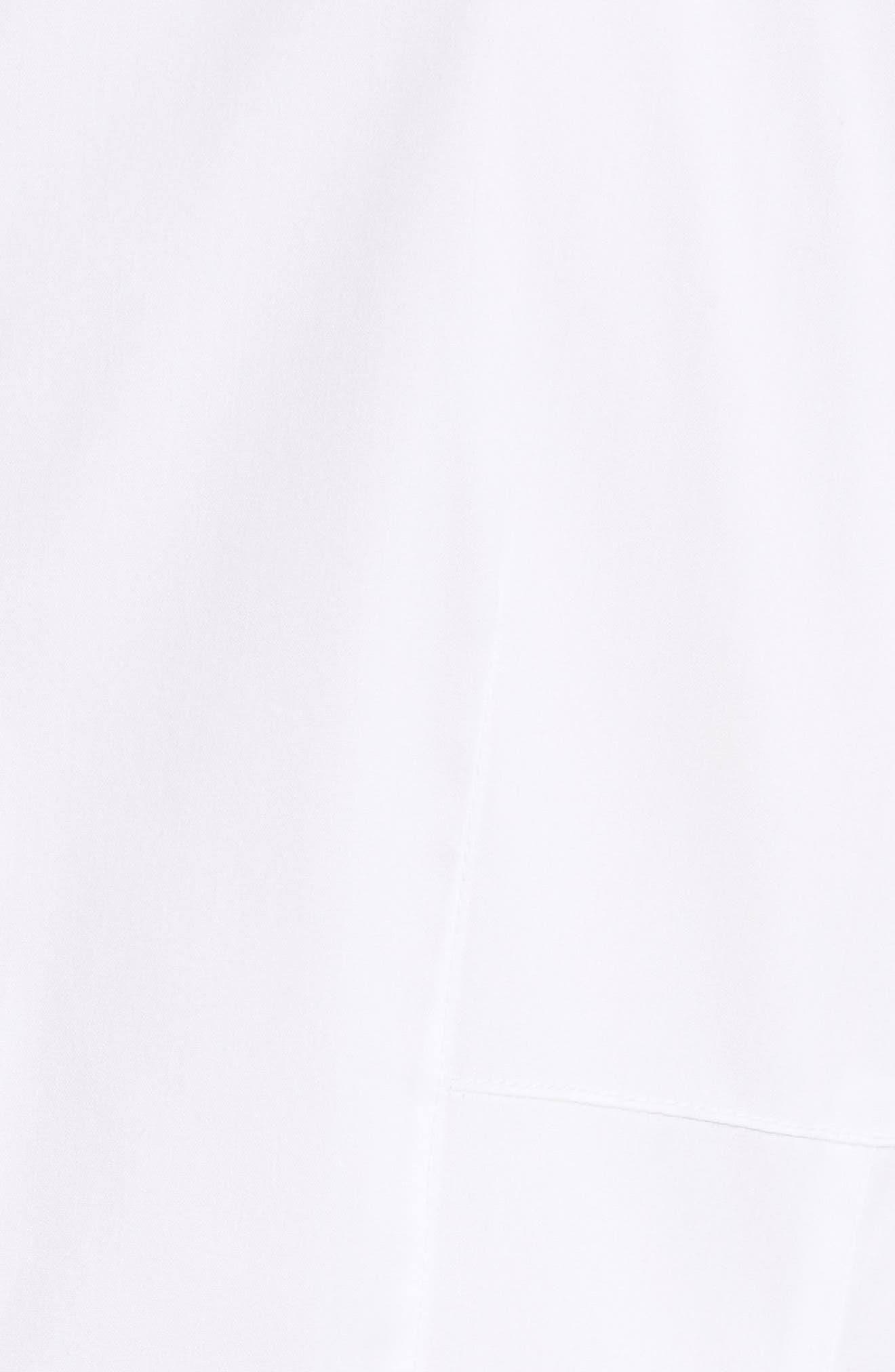 Kia Stretch Cotton Blouse,                             Alternate thumbnail 5, color,                             100