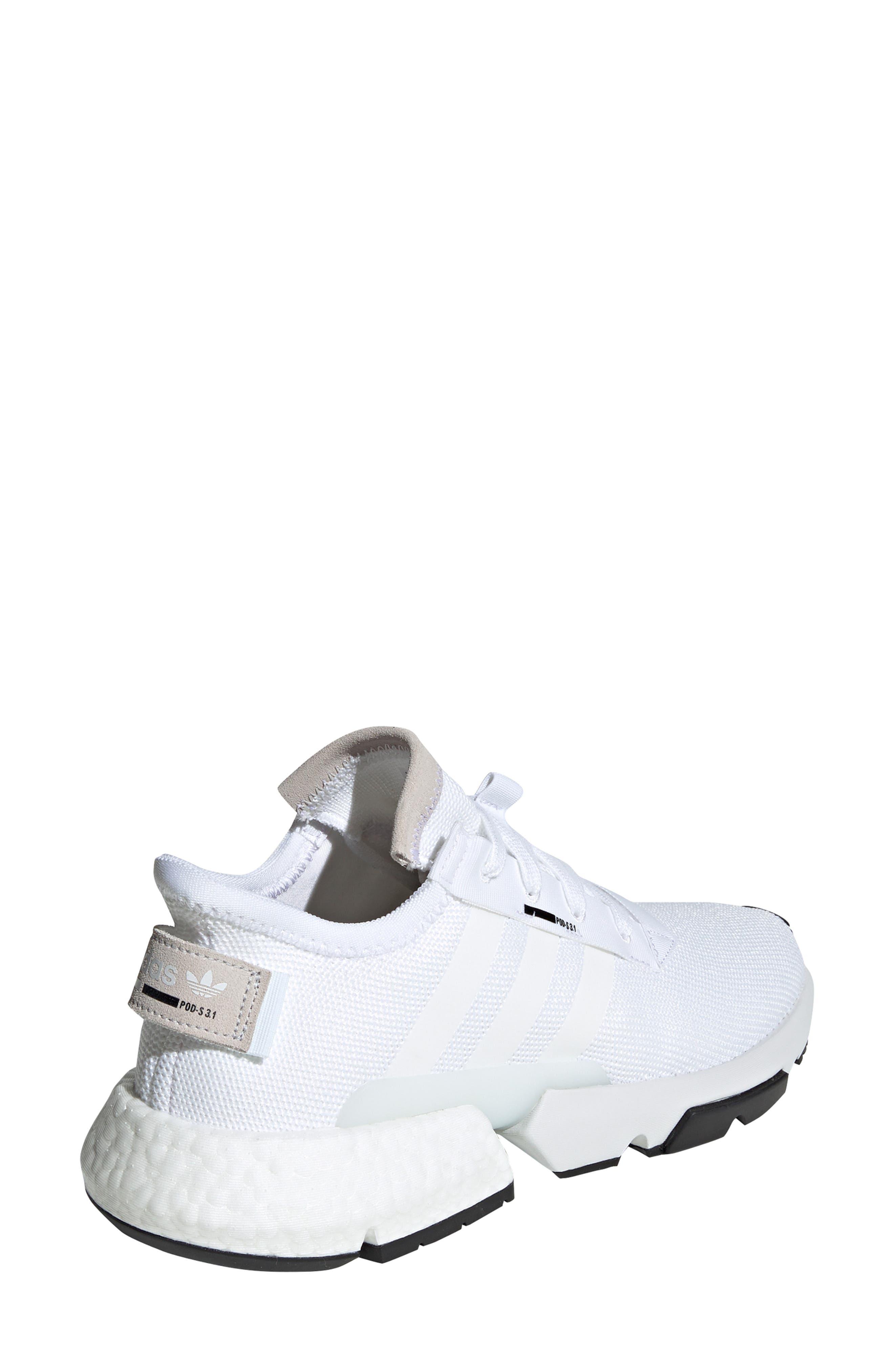 Pod S3.1 Sneaker,                             Alternate thumbnail 2, color,                             WHITE/ BLACK