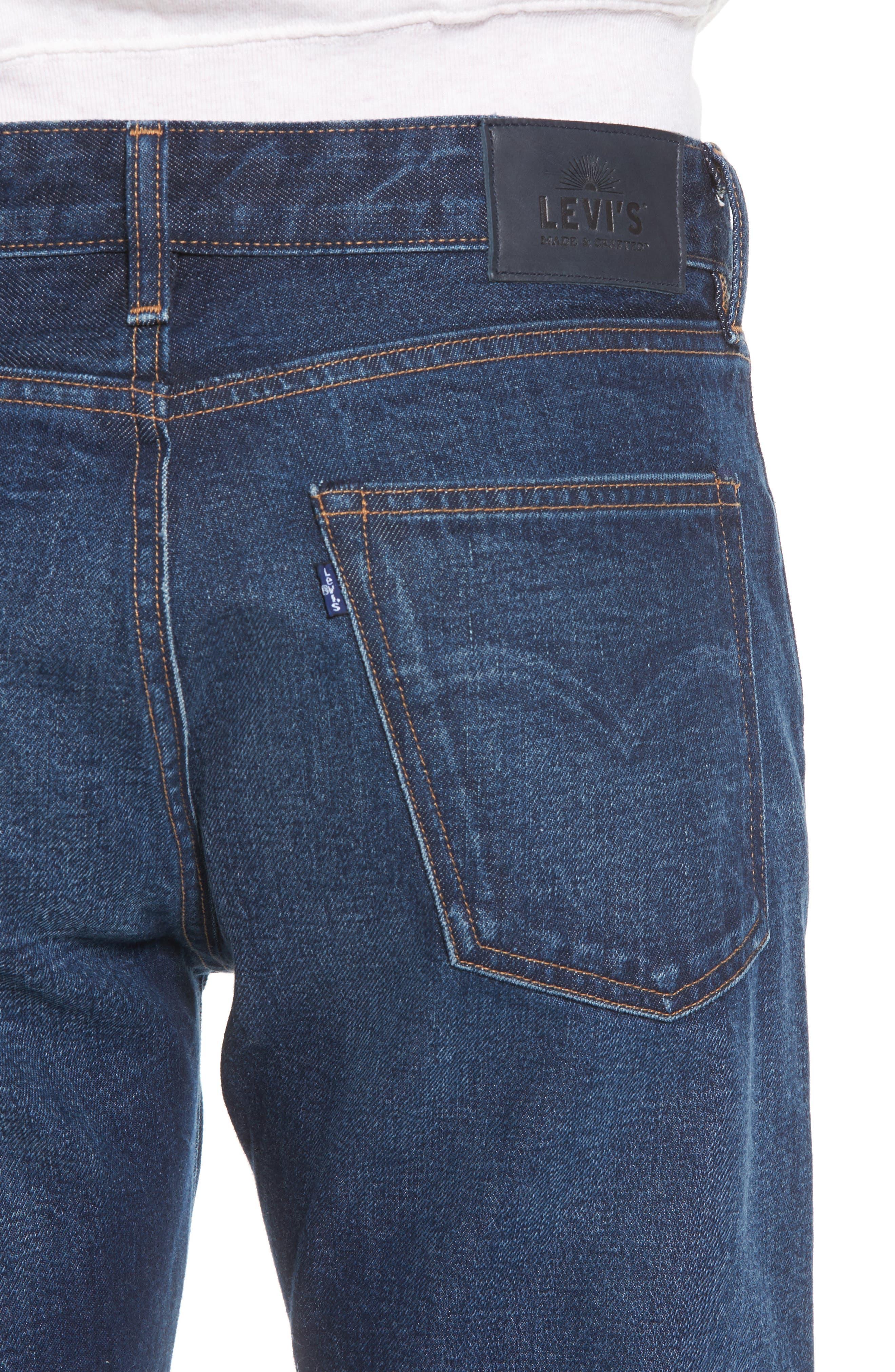 Tack Slim Fit Jeans,                             Alternate thumbnail 4, color,                             401
