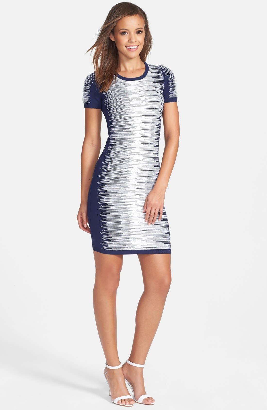 'Danni' Degrade Sweater Dress,                         Main,                         color, 433