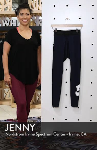 Leg-a-See High Waist Leggings, sales video thumbnail
