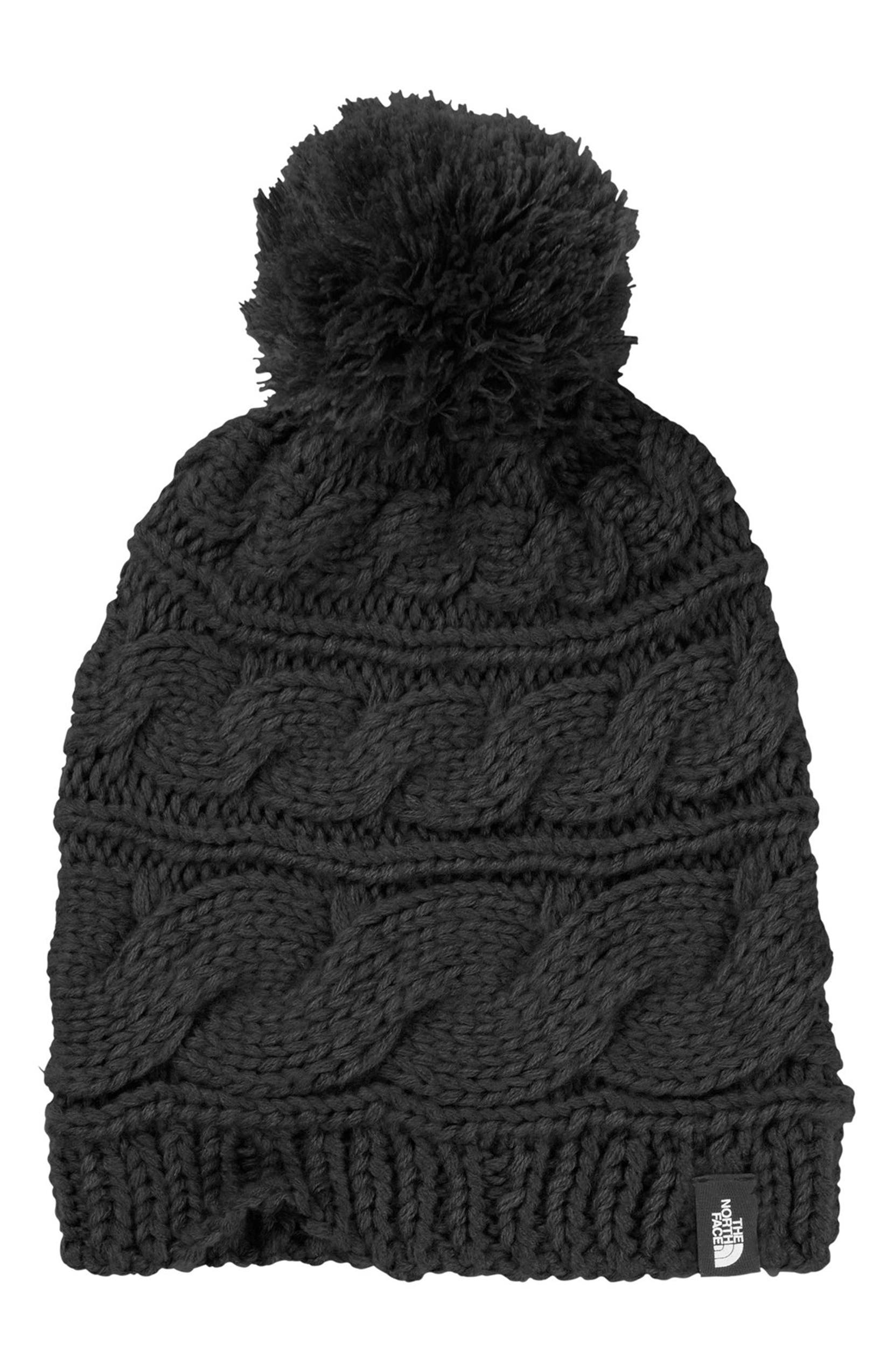 The North Face Triple Cable Pom Beanie  7ad3d60b7b8c