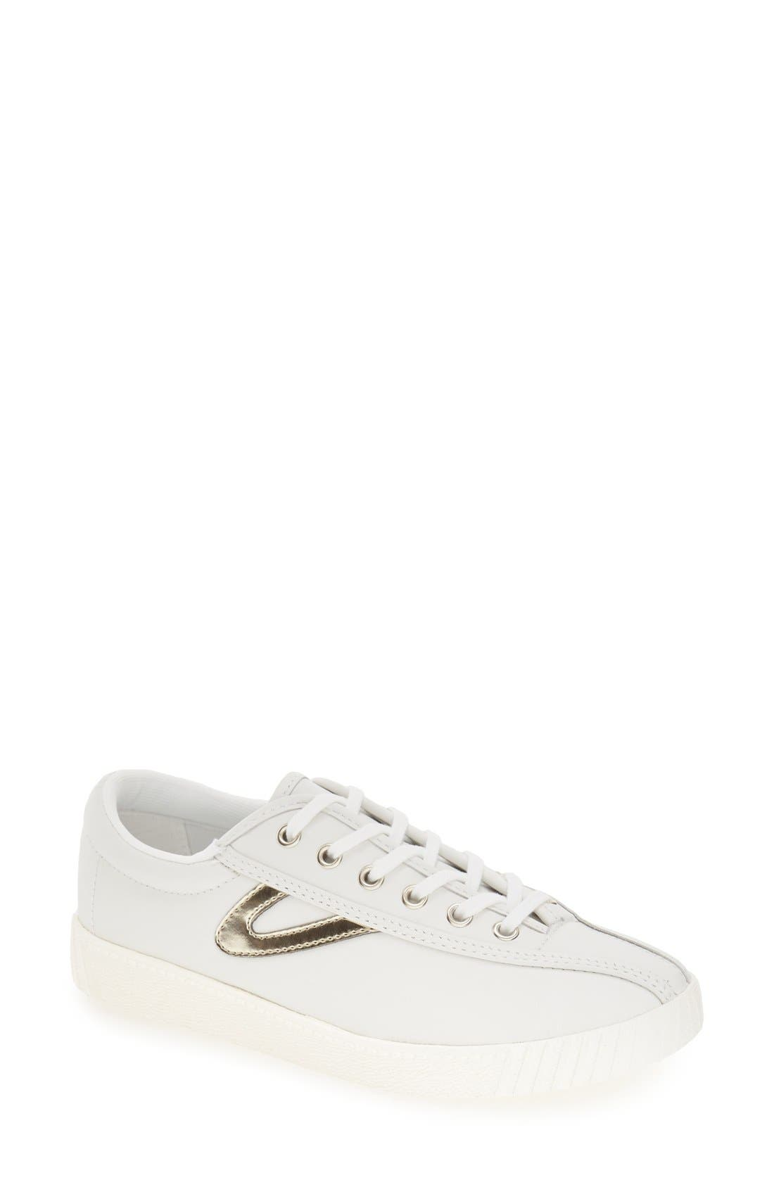 'Nylite2 Plus' Sneaker,                         Main,                         color, WHITE/ GOLD