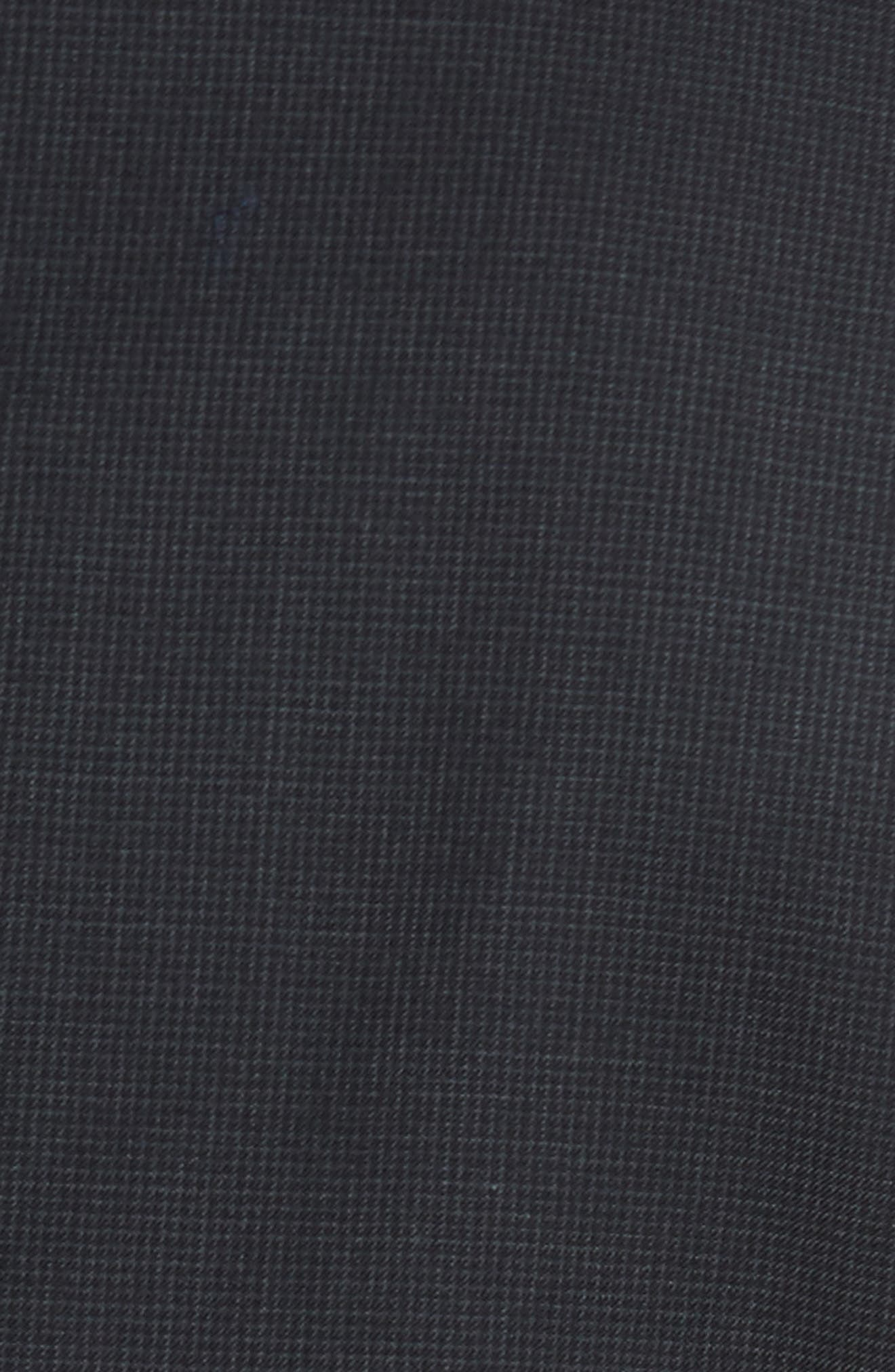 Classic Fit Check Wool Suit,                             Alternate thumbnail 7, color,                             001
