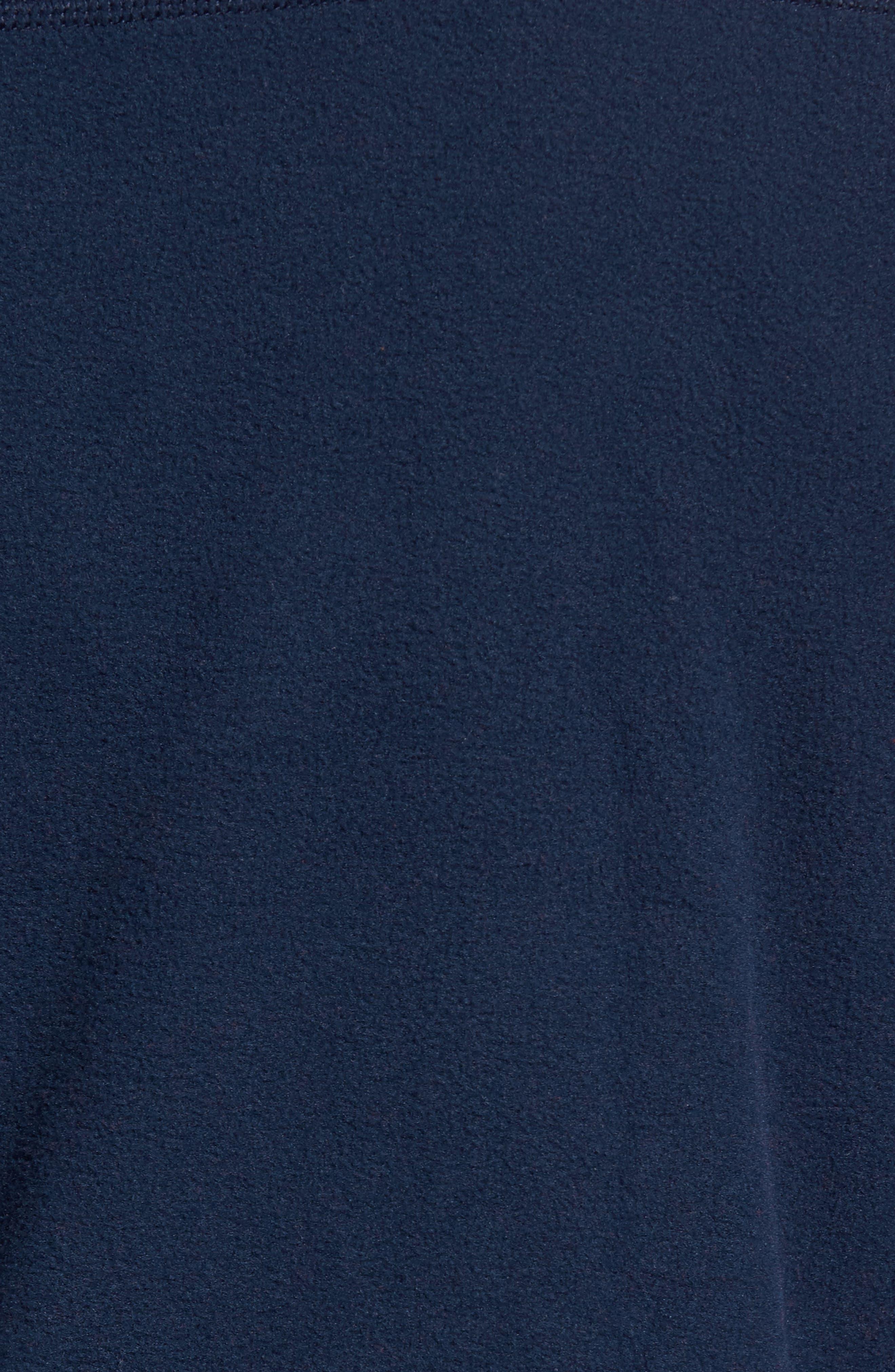 Fleece Pullover,                             Alternate thumbnail 5, color,                             BLUE
