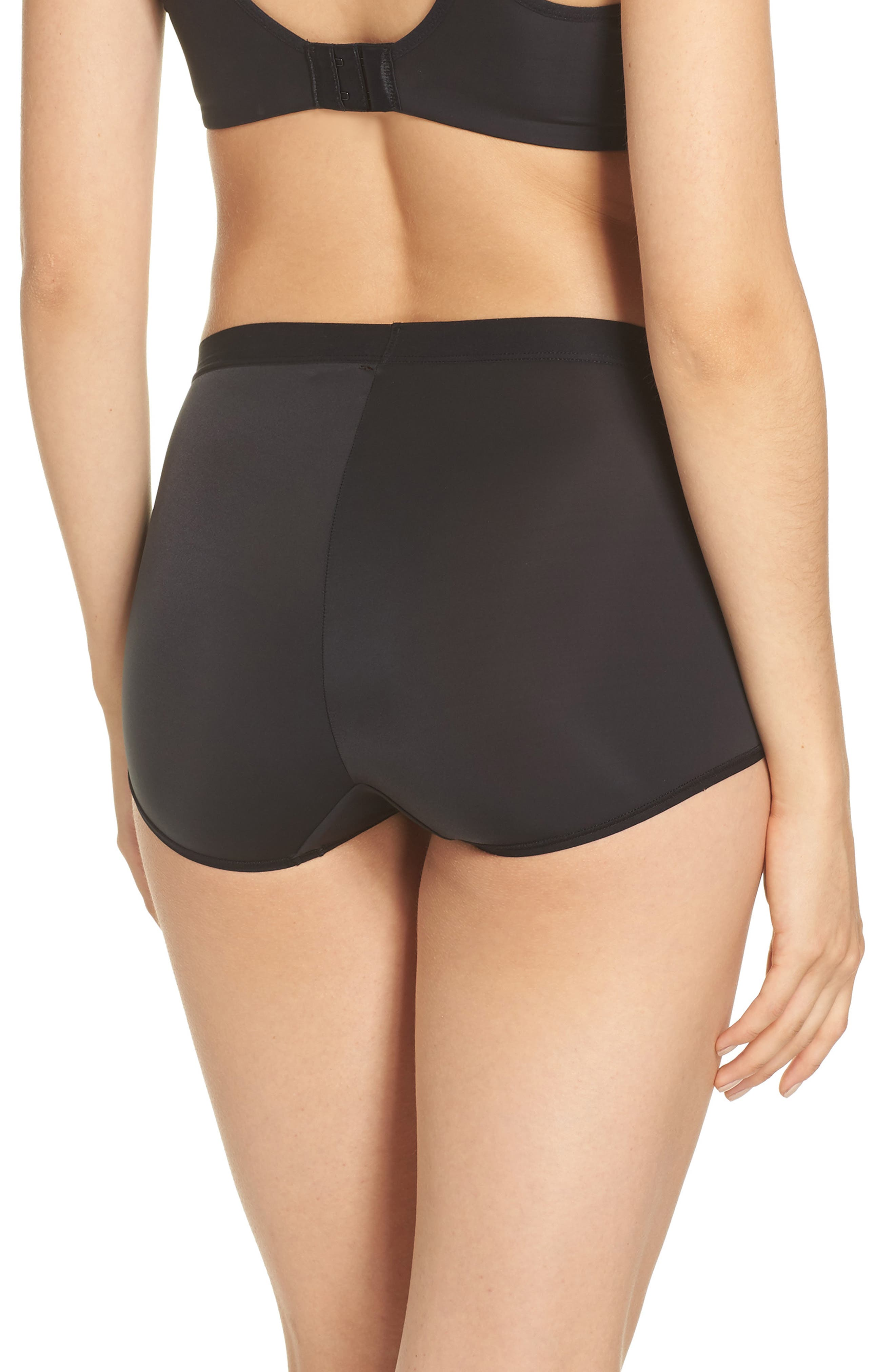 Flawless Comfort Briefs,                             Alternate thumbnail 2, color,                             BLACK