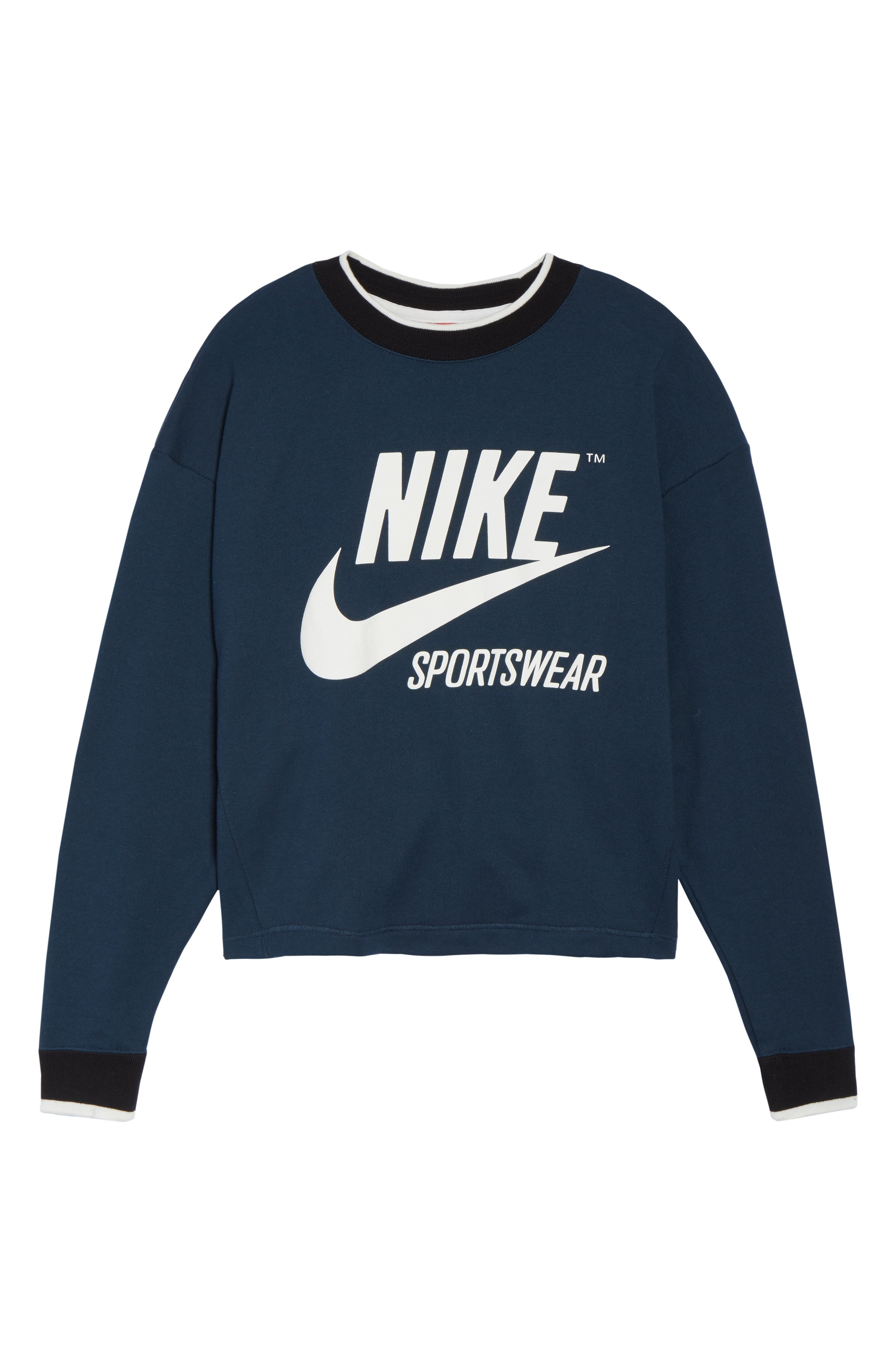Sportswear Archive Sweatshirt,                             Alternate thumbnail 7, color,                             454