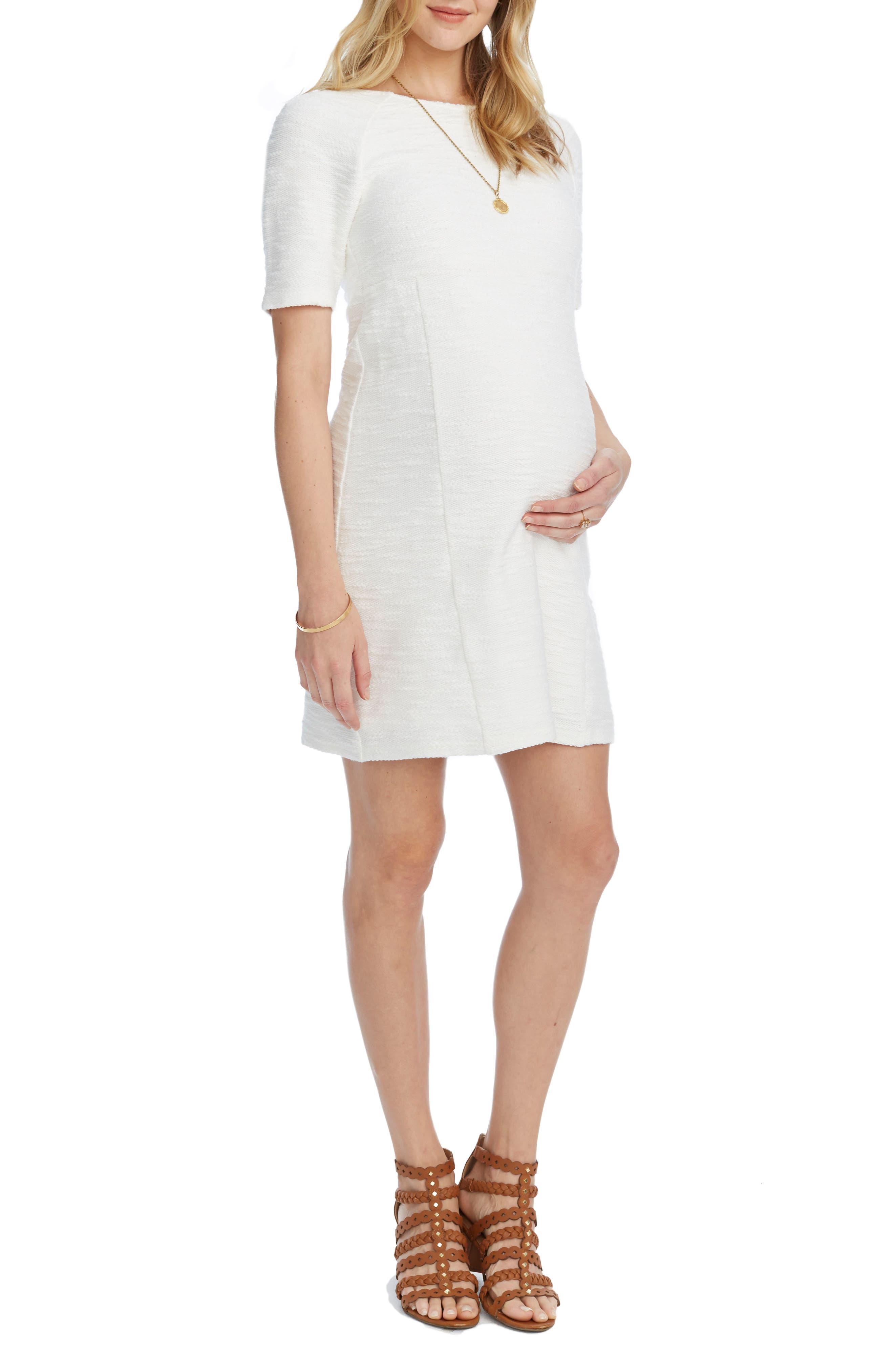 Alana Maternity Dress,                             Alternate thumbnail 3, color,