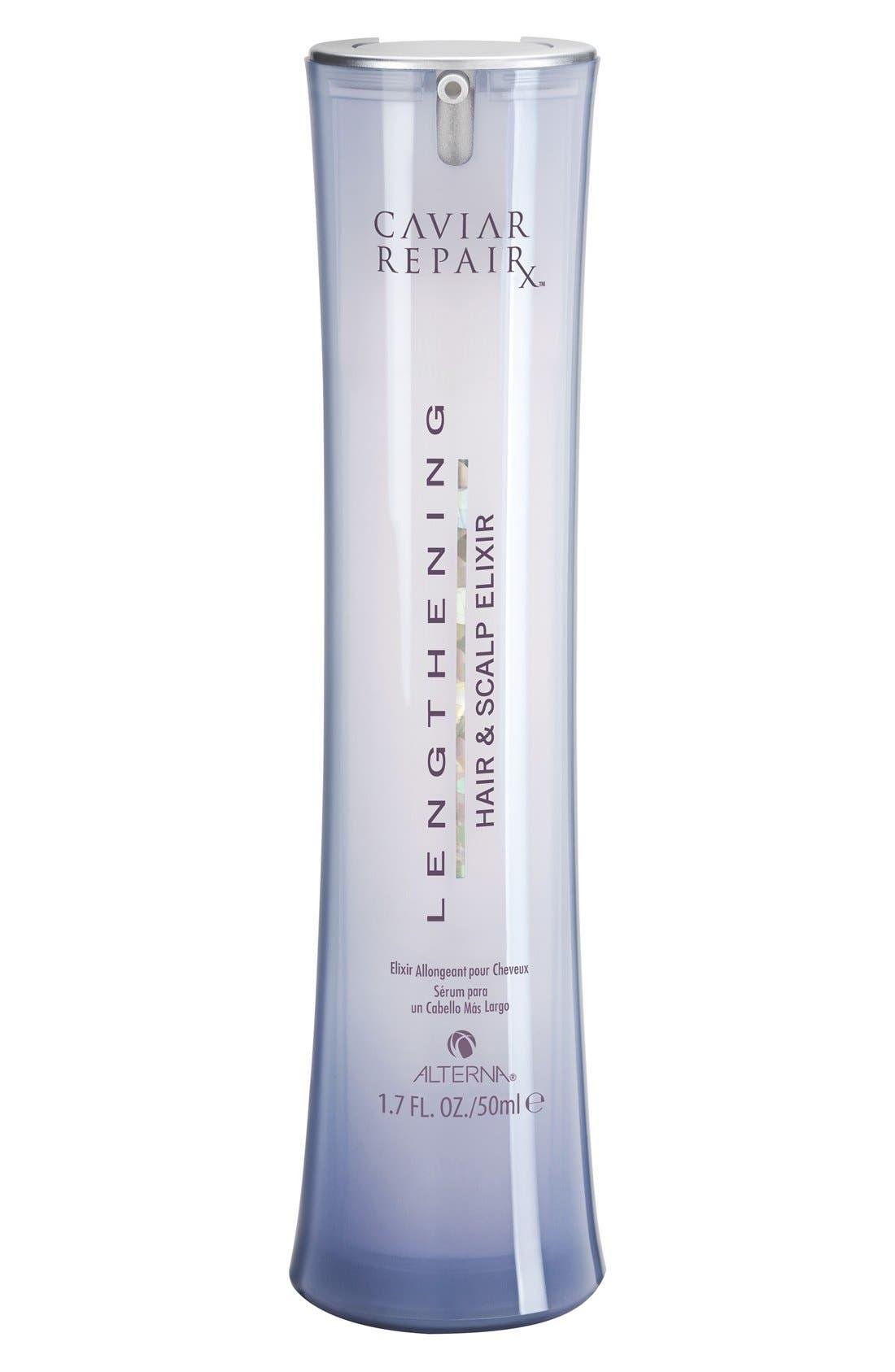 Caviar Repair Rx Lengthening Hair & Scalp Elixir,                             Main thumbnail 1, color,                             000