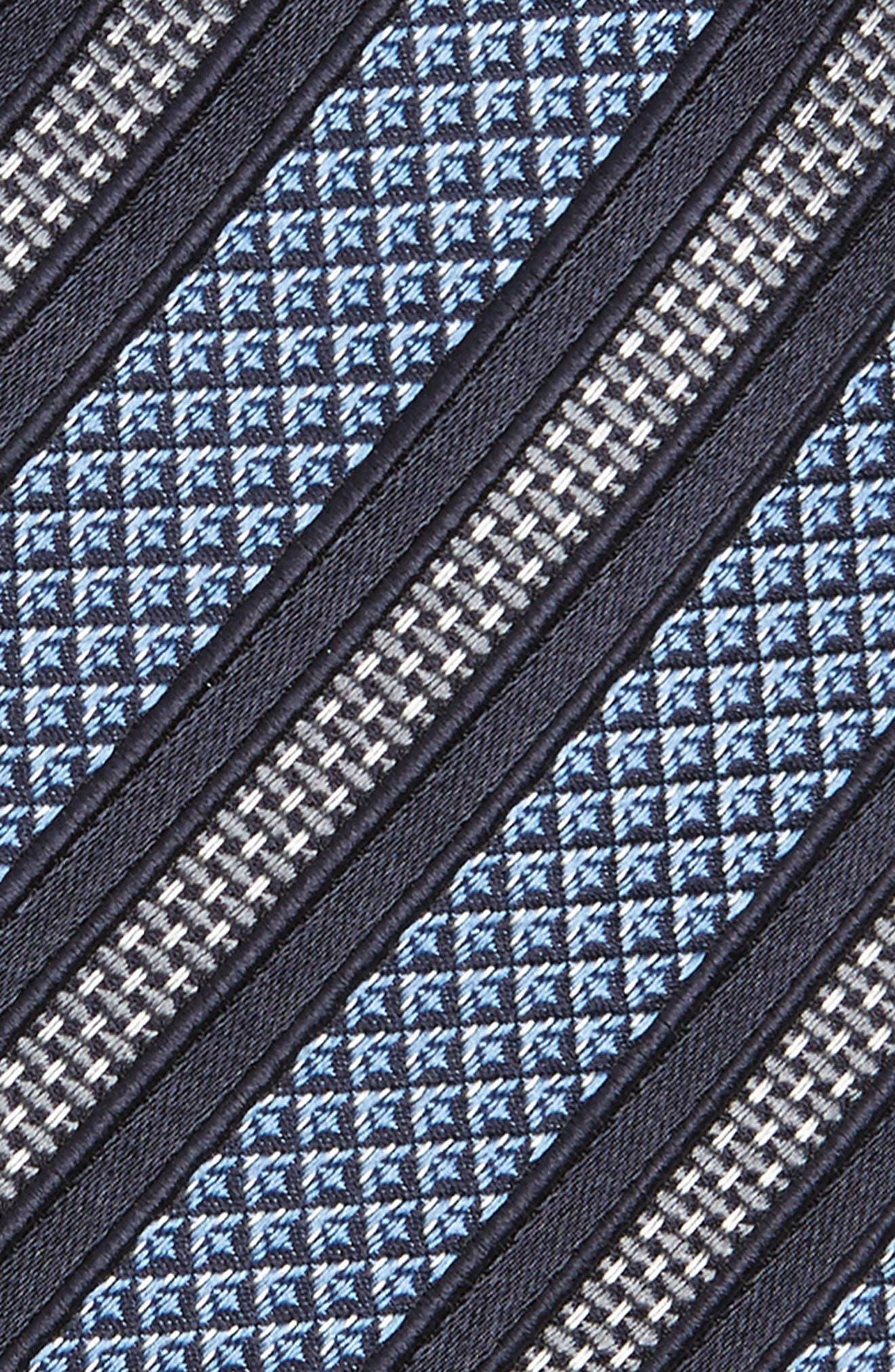 Stripe Silk Tie,                             Alternate thumbnail 2, color,                             428