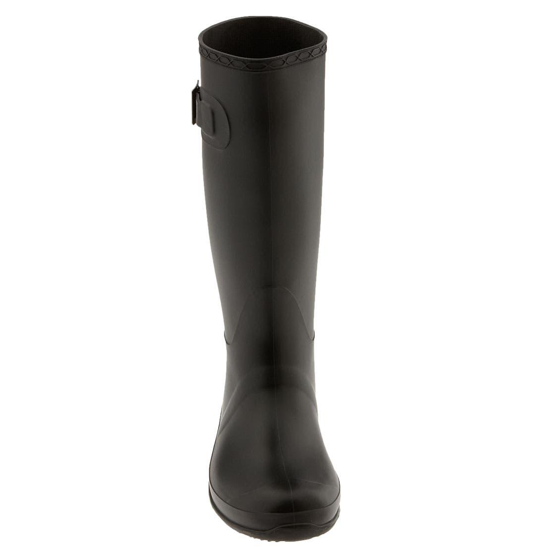 'Olivia' Rain Boot,                             Alternate thumbnail 3, color,                             010
