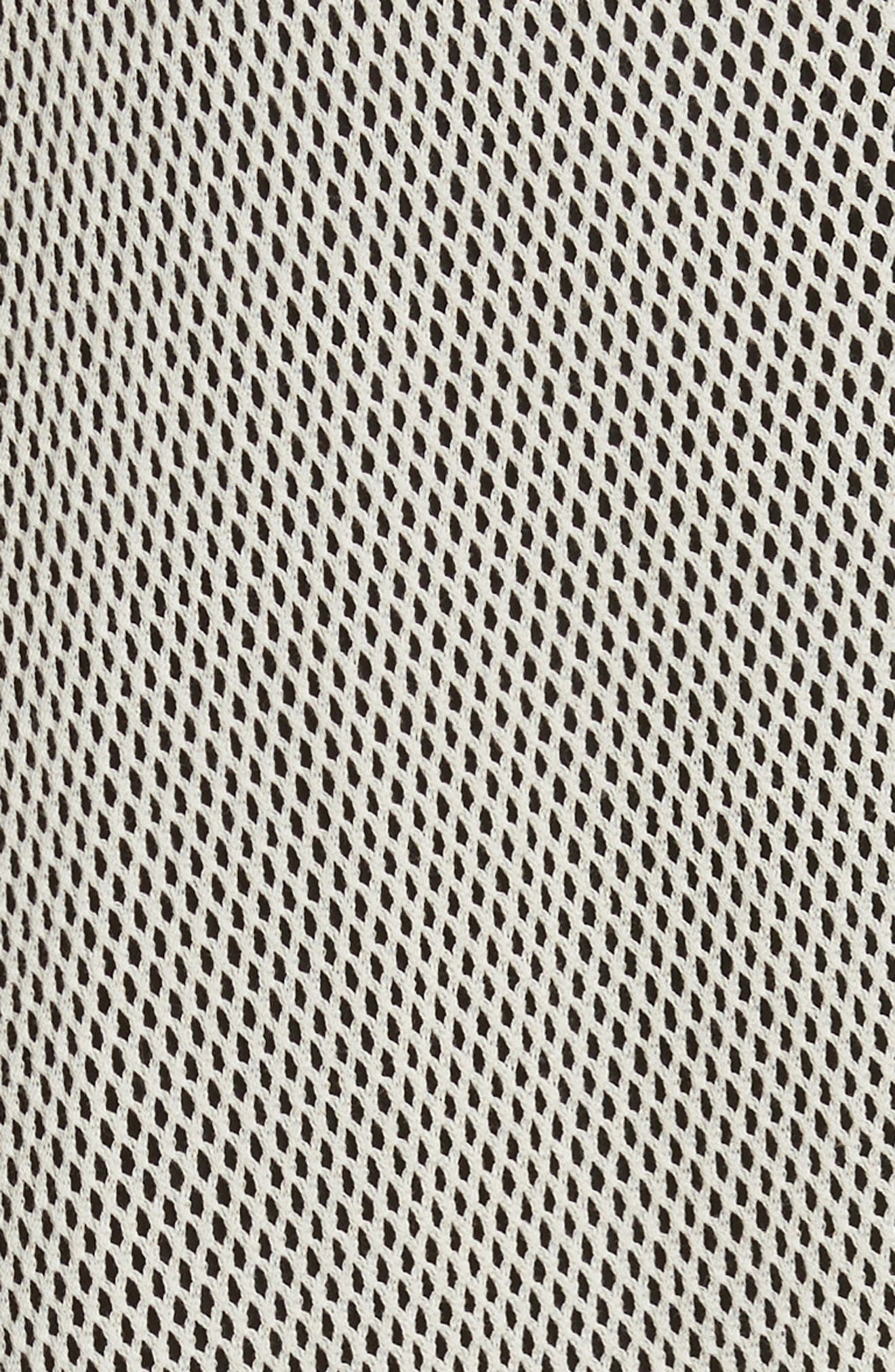 Tangle Ruffle Midi Dress,                             Alternate thumbnail 5, color,                             250