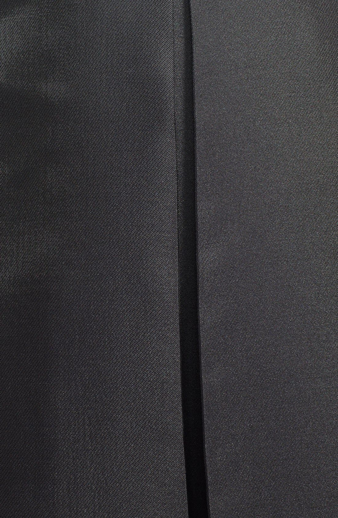 Pleat Midi Skirt,                             Alternate thumbnail 5, color,                             001