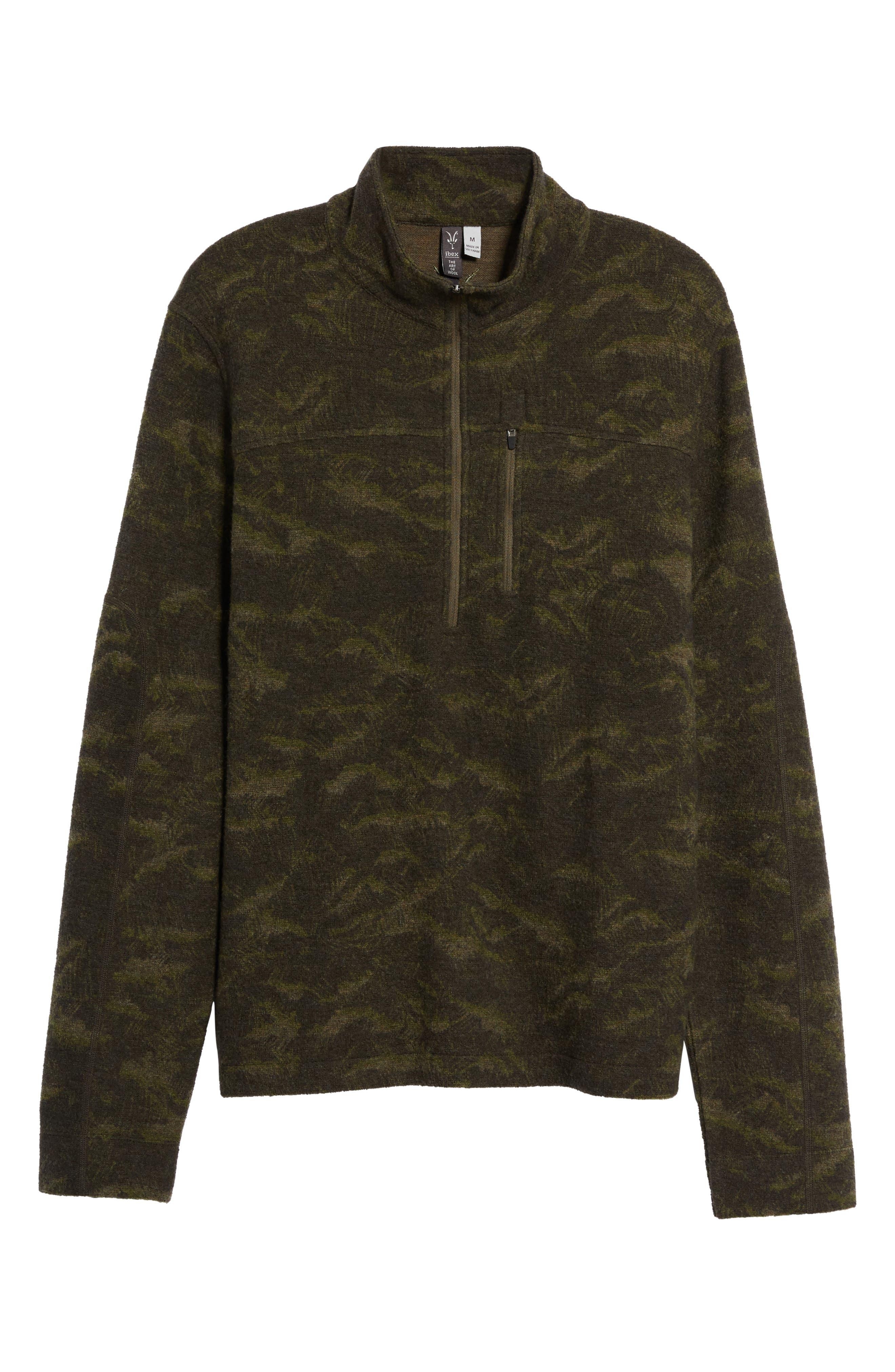 Scout Jura Merino Wool Blend Quarter Zip Pullover,                             Alternate thumbnail 27, color,